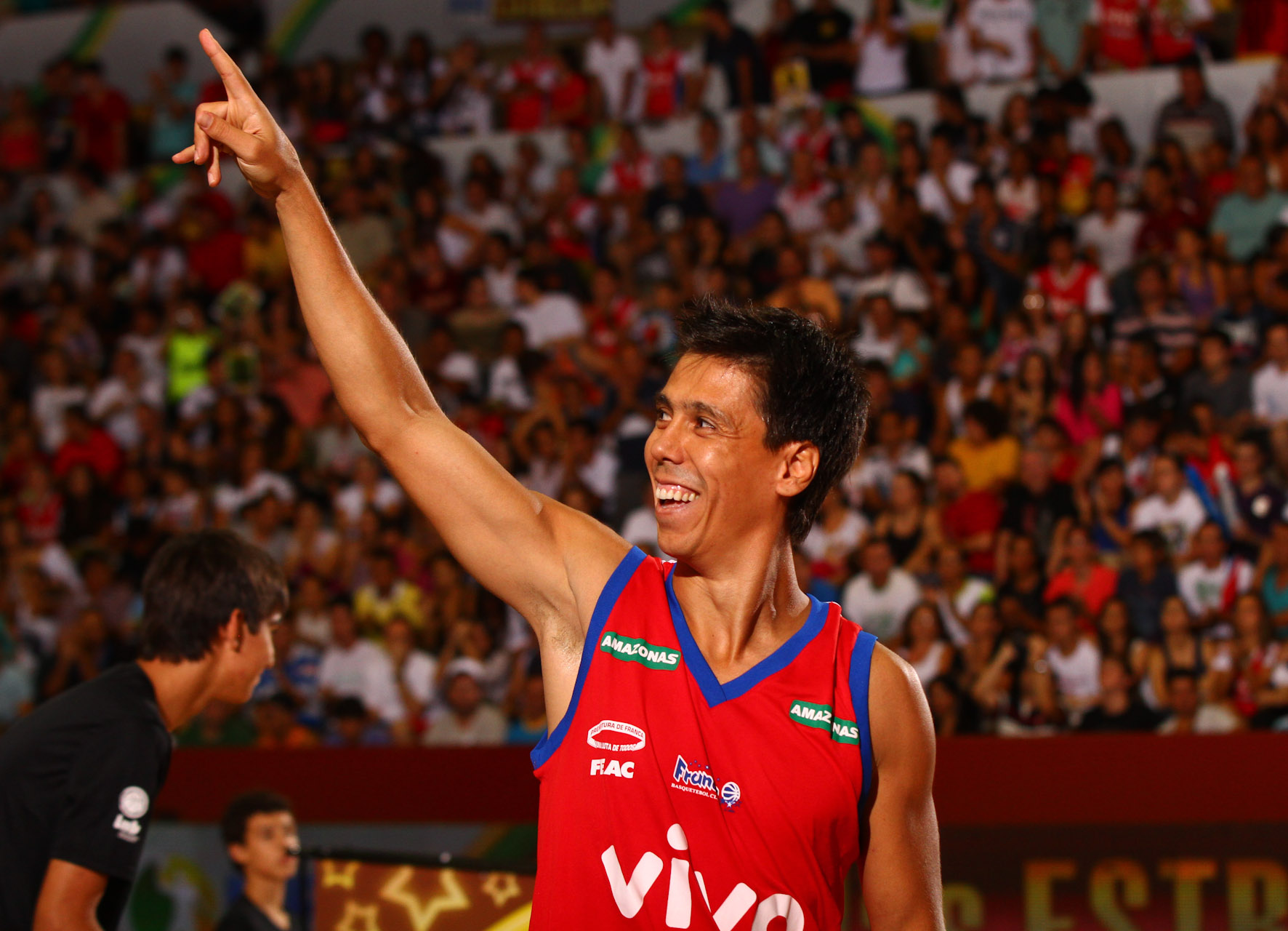 Helinho Campeão do Torneio de 3 pontos.