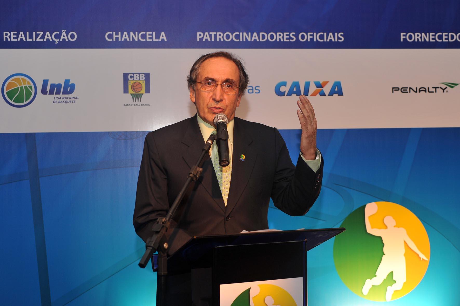 Kouros Monadjemi, presidente da LNB