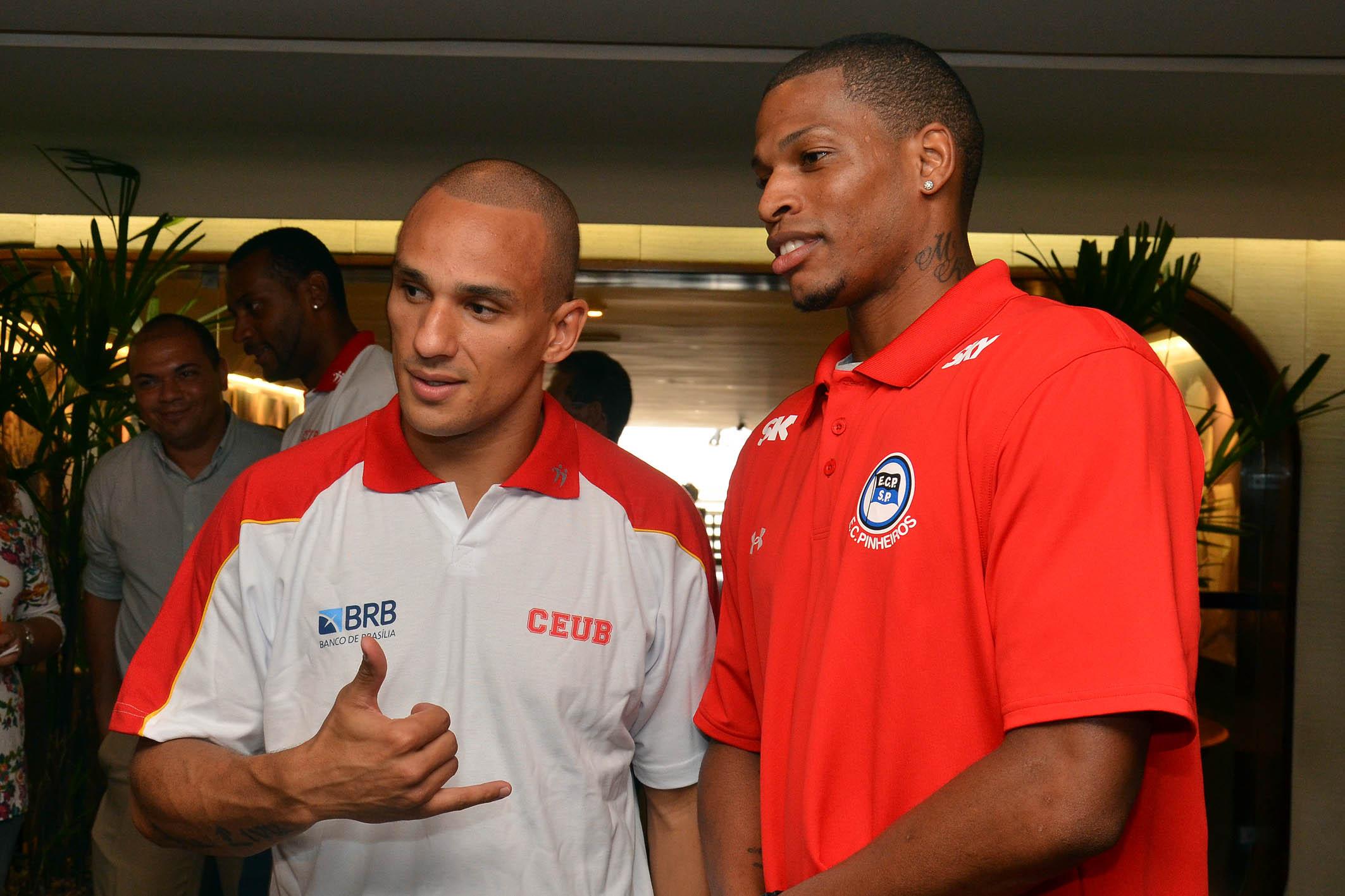 Alex (Brasília) e Shamell (Pinheiros)