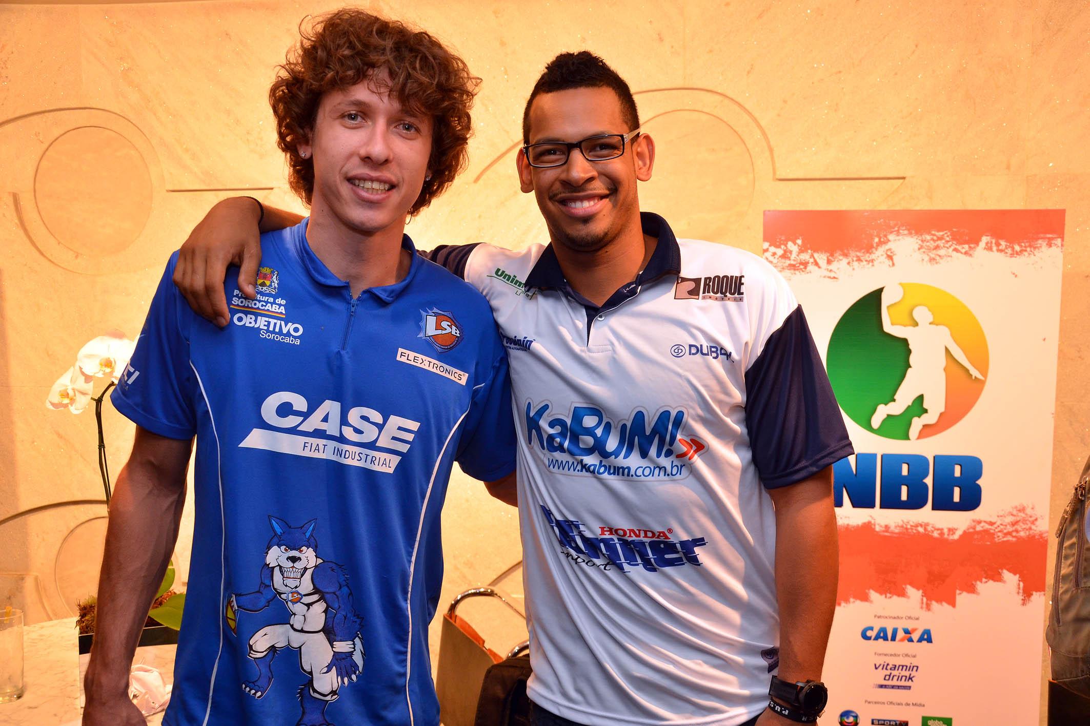 Neto (Liga Sorocabana) e Ronald Ramón (Limeira)