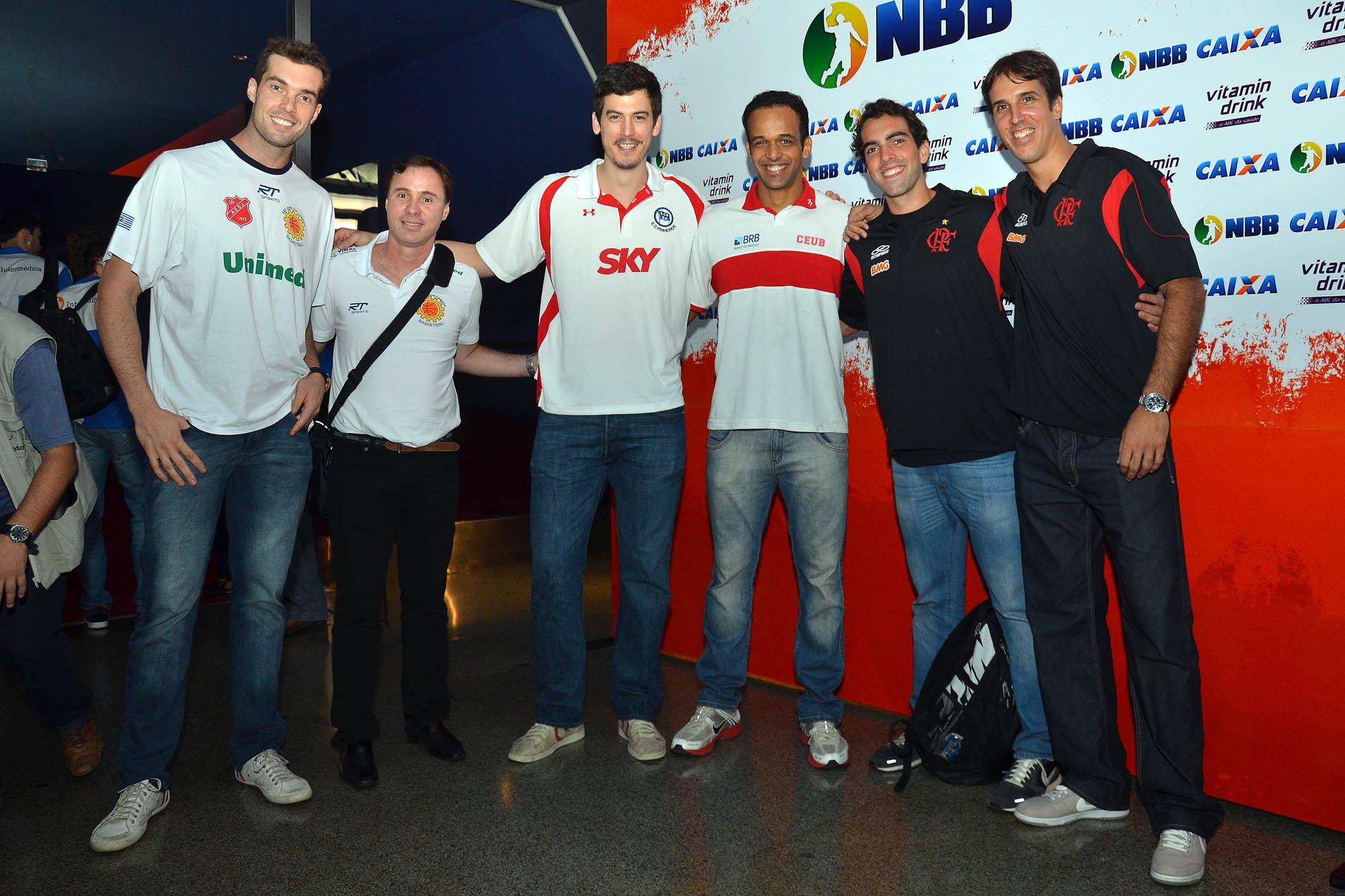 Murilo e Régis Marrelli (São José), Bruno Fiorotto (Pinheiros), Arthur (Brasília), Benite e Marcelinho (Flamengo)
