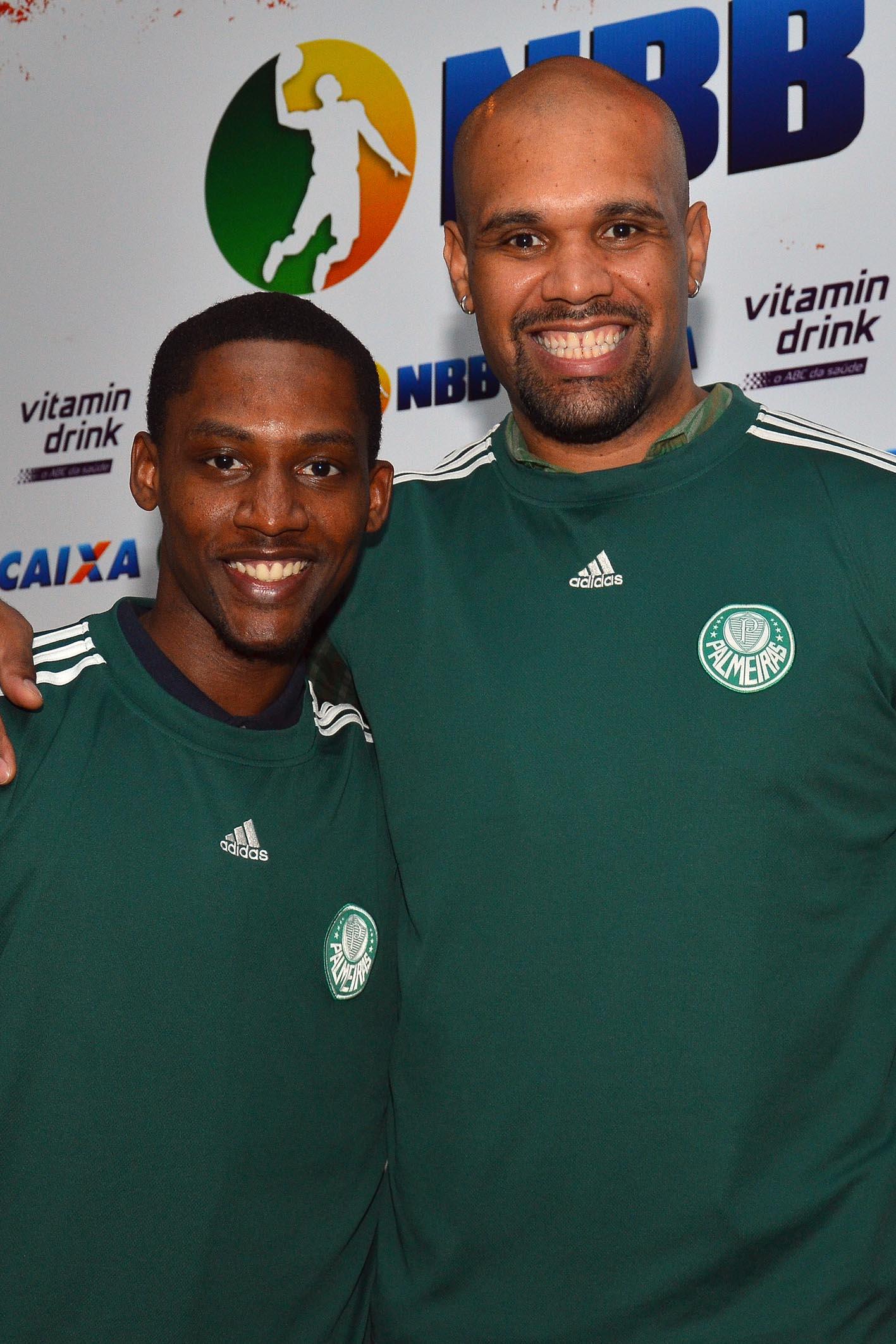 Caleb Brown e Tiagão (Palmeiras)