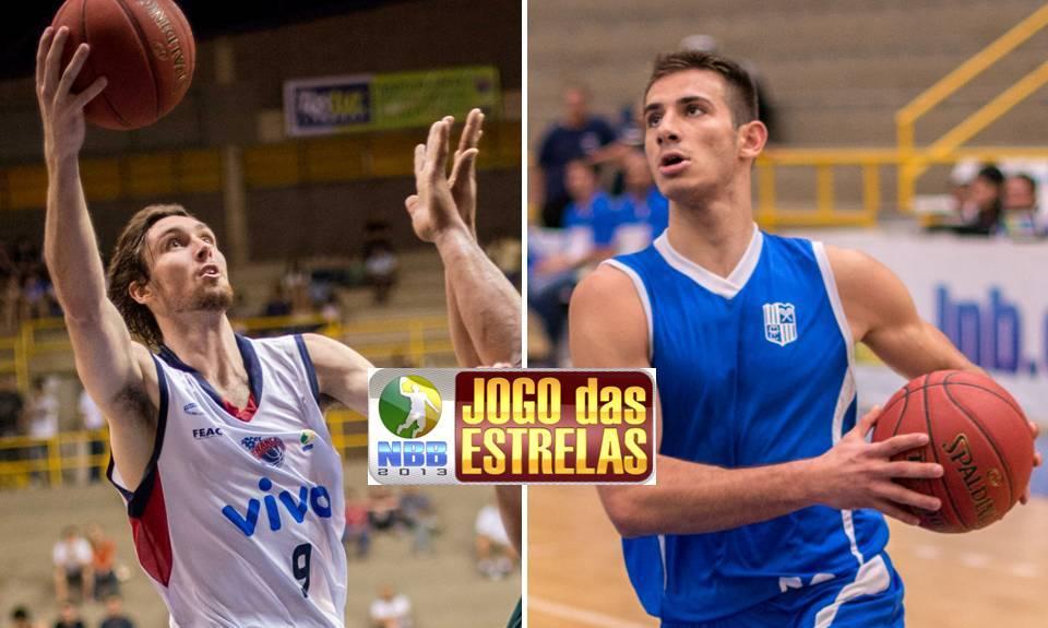 Socas, do Franca, e Fuzaro, do Minas, estão garantidos no Torneio de Enterradas (Montagem/LNB)