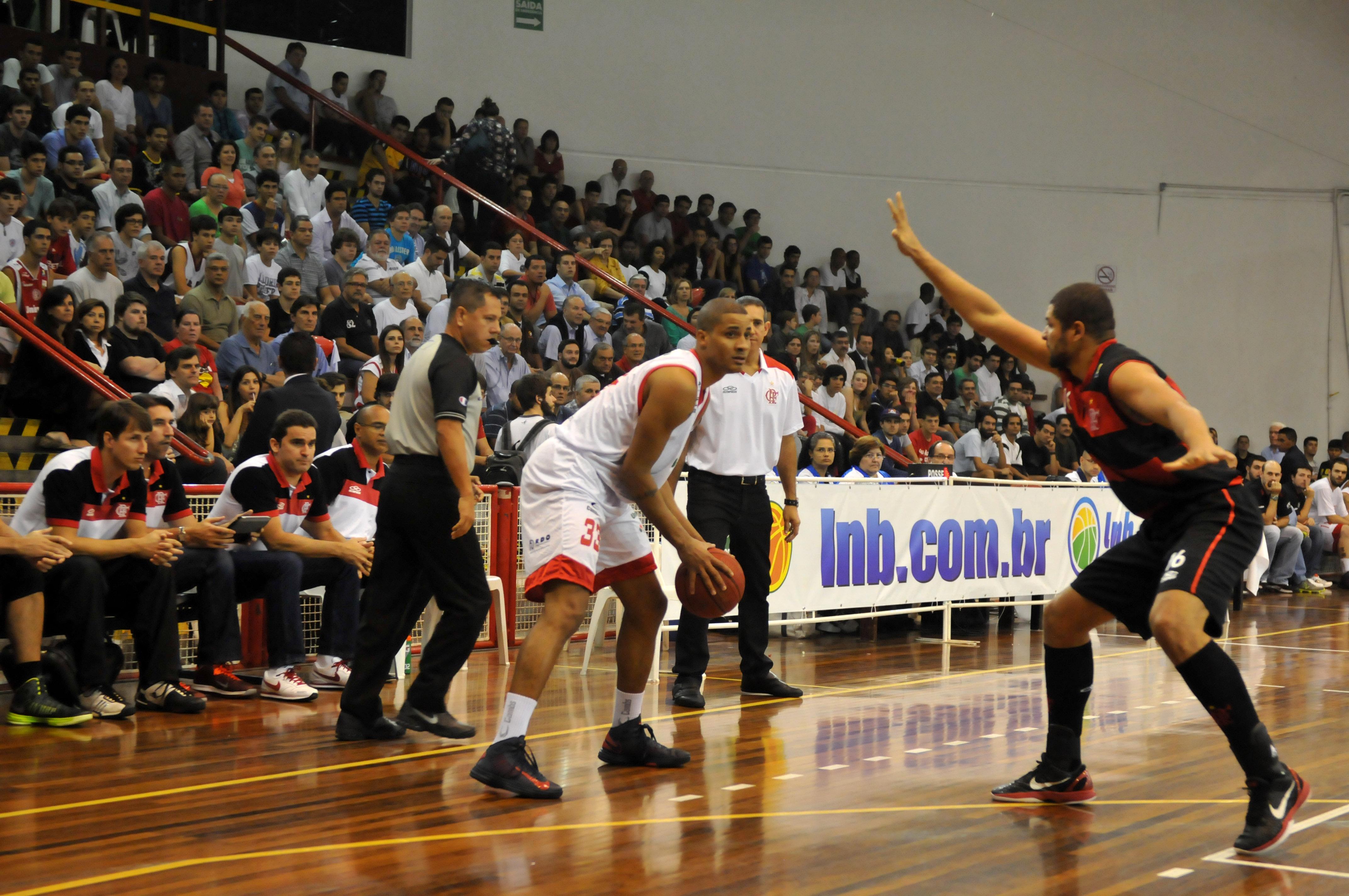 Eddy, do Paulistano, e Olivinha, do Flamengo