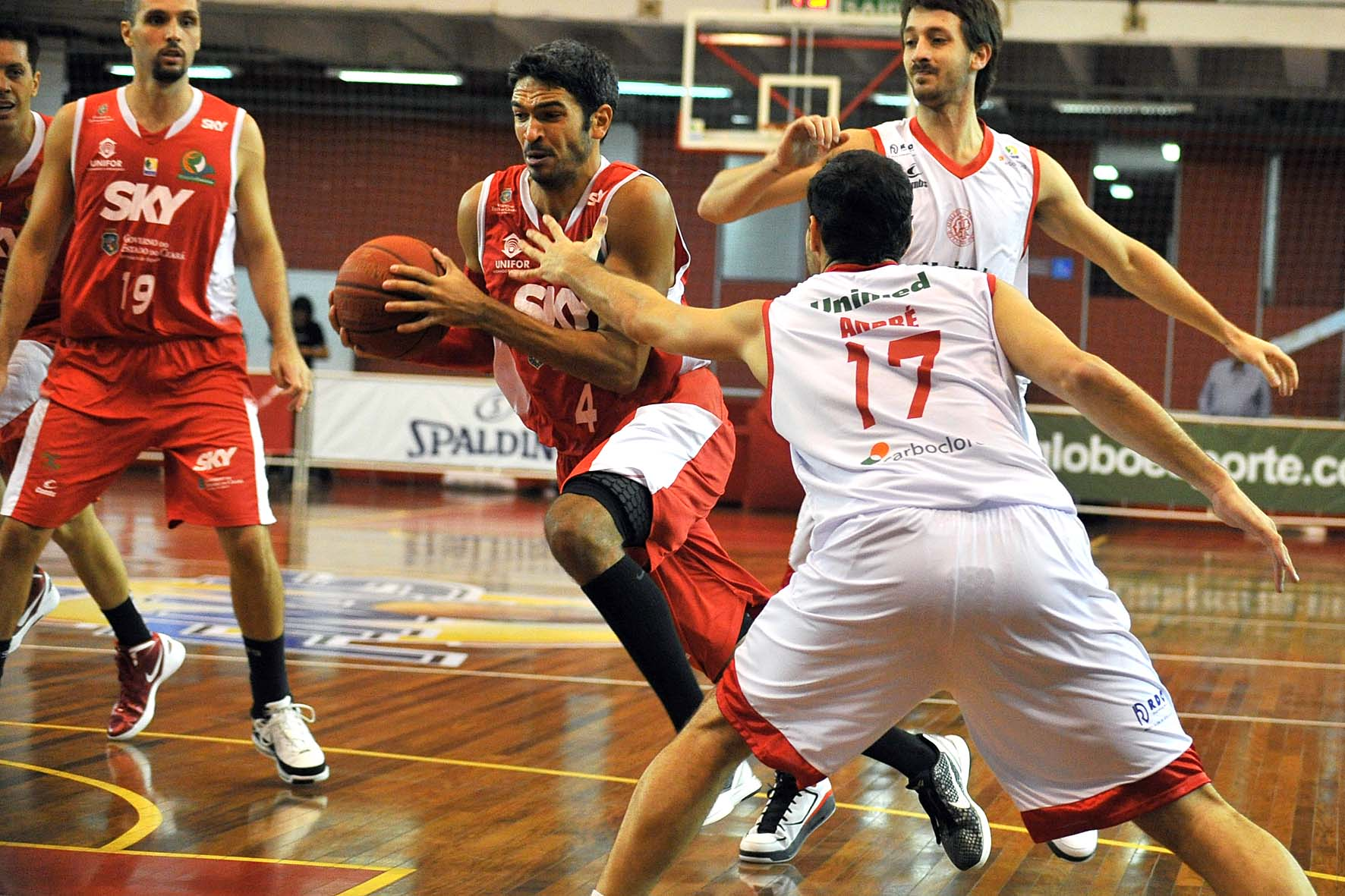 André Góes, do Basquete Cearense