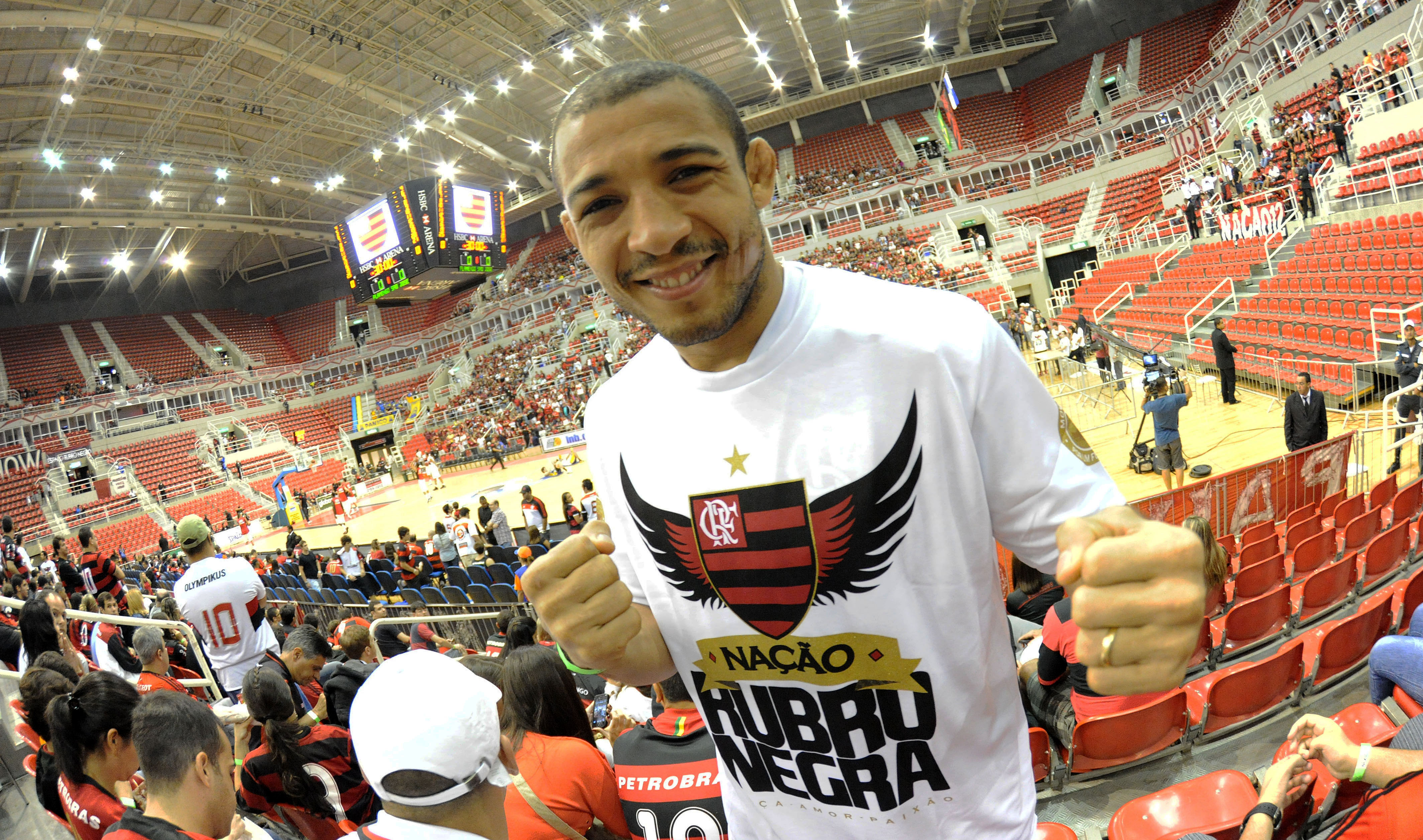 José Aldo, lutador de MMA
