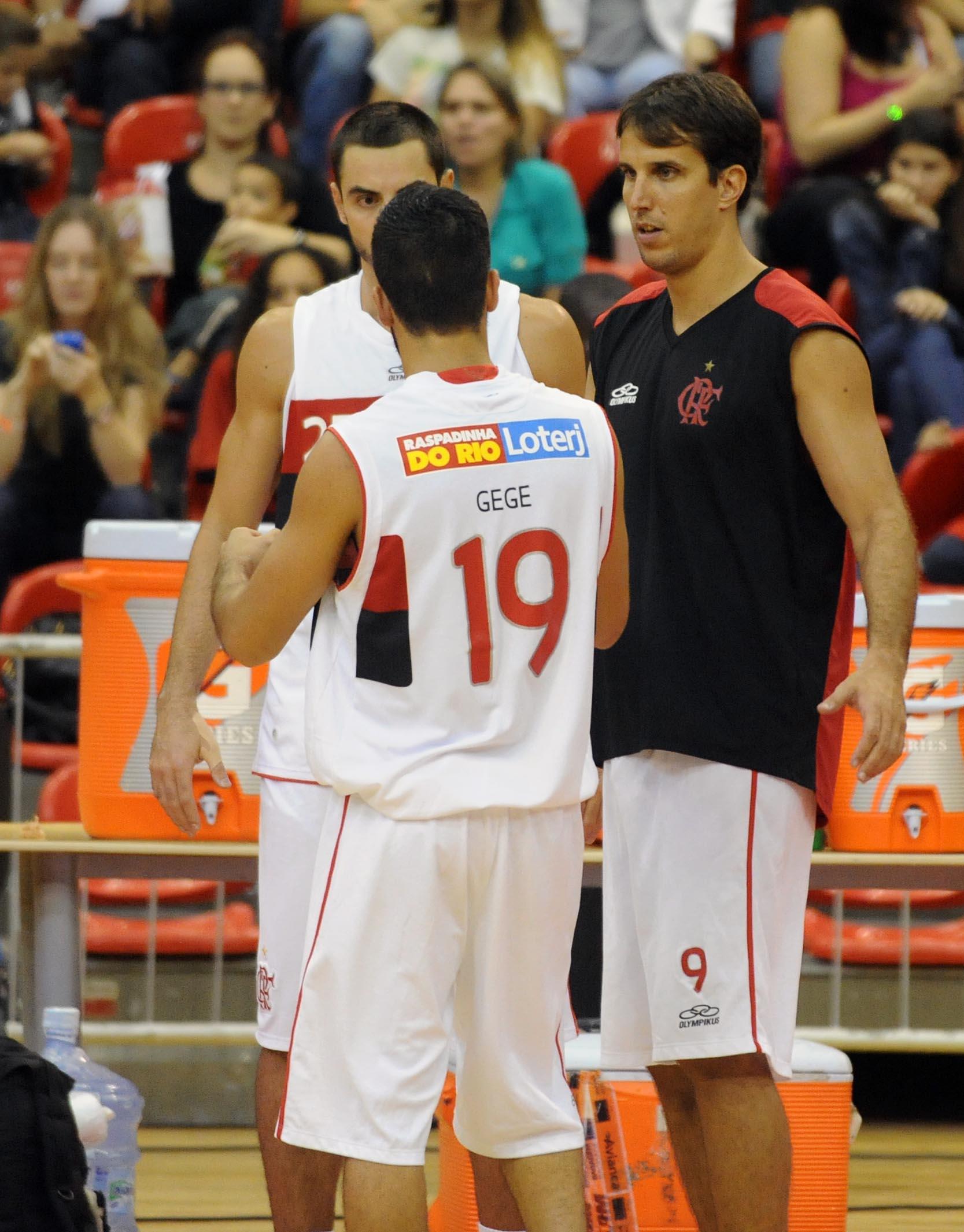 Marcelinho Machado, Gegê e Zanotti, do Flamengo