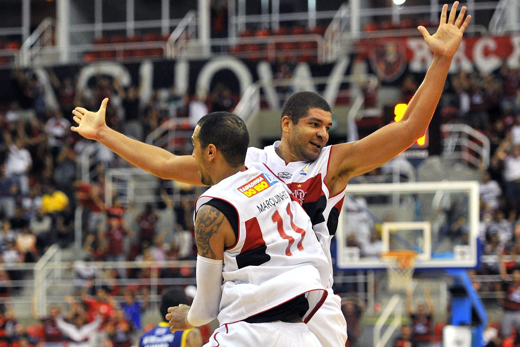 Marquinhos e Olivinha, do Flamengo