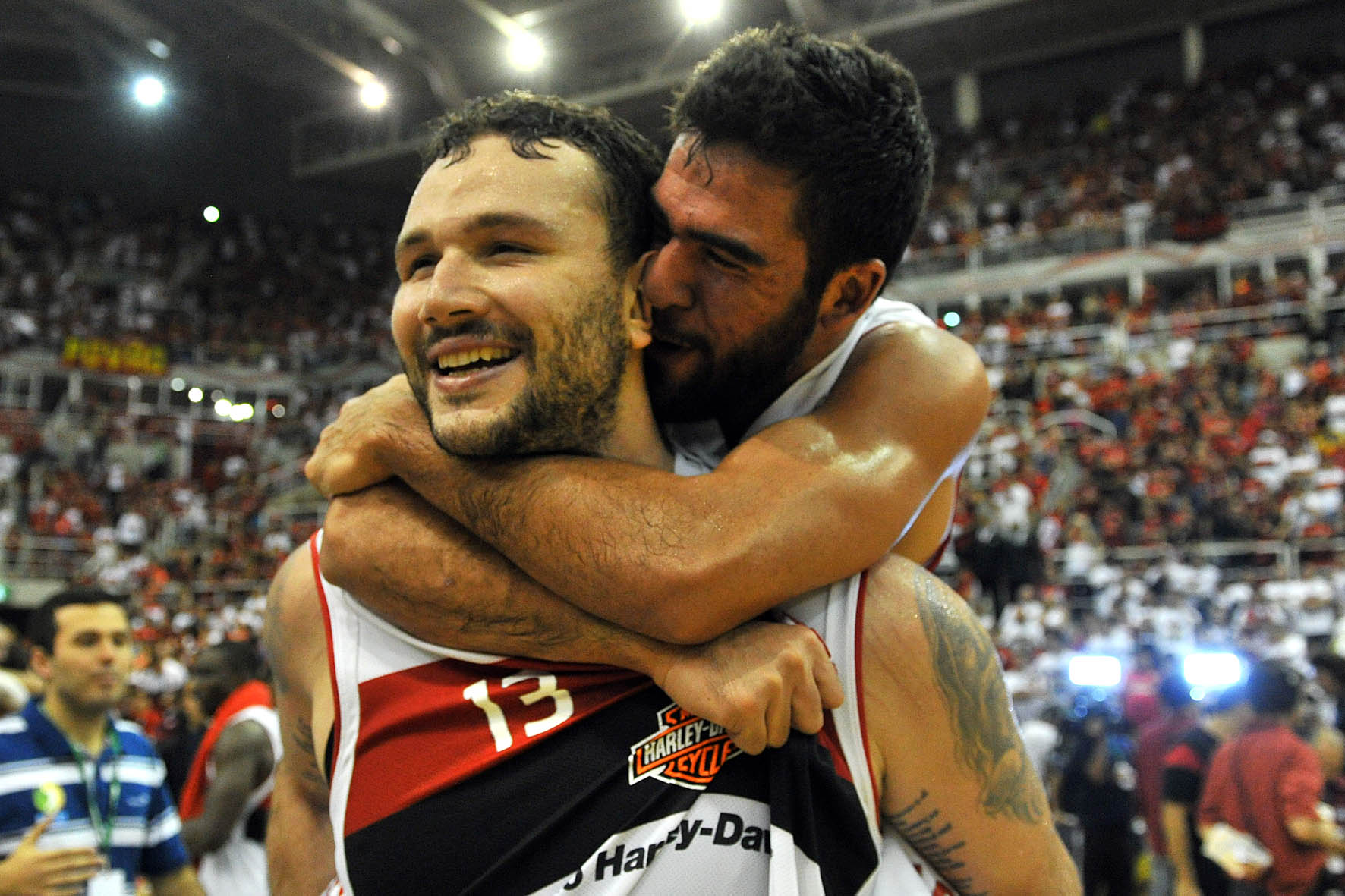 Caio Torres e Gegê, do Flamengo