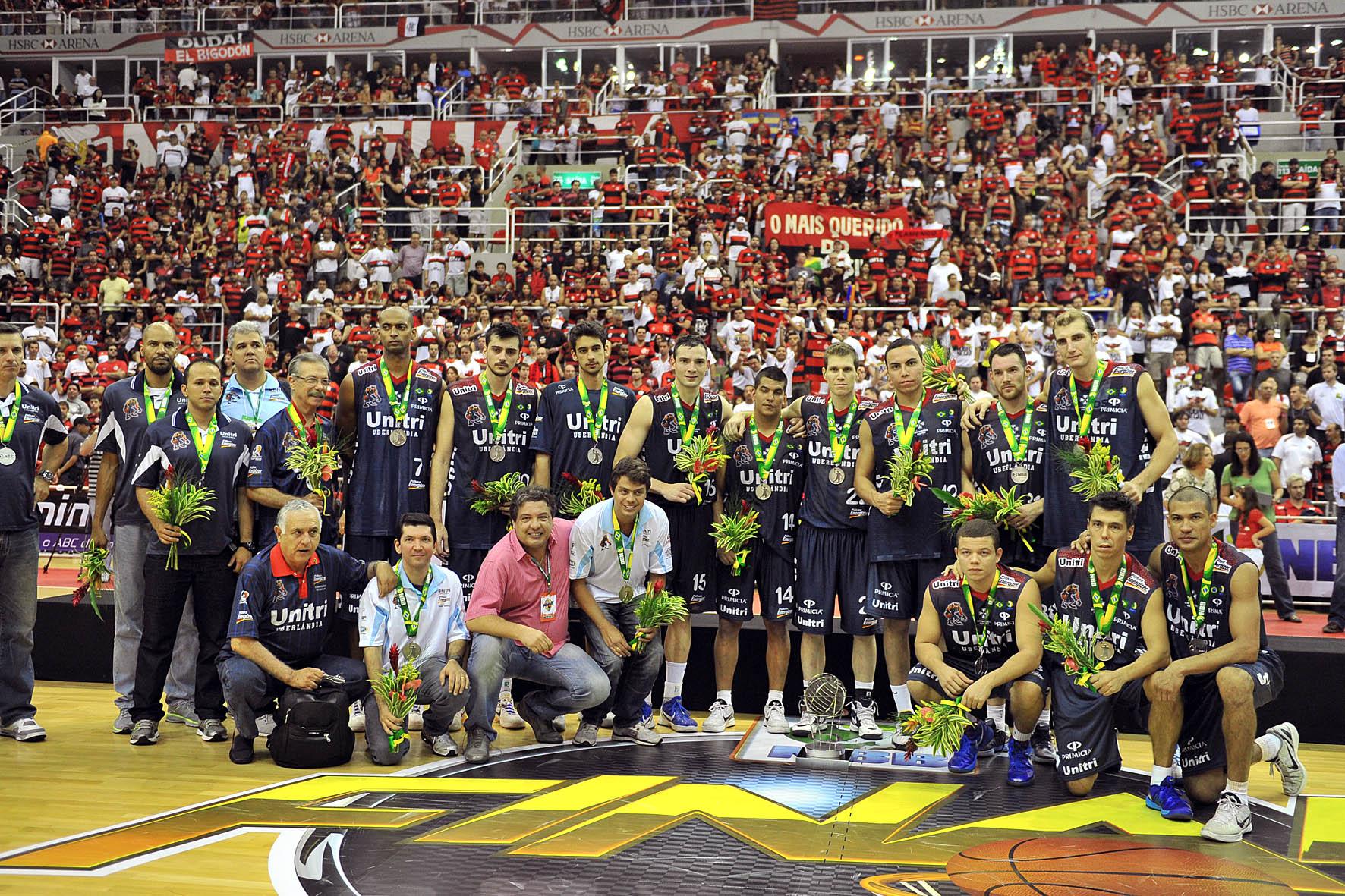 Uberlândia, vice-campeão do NBB
