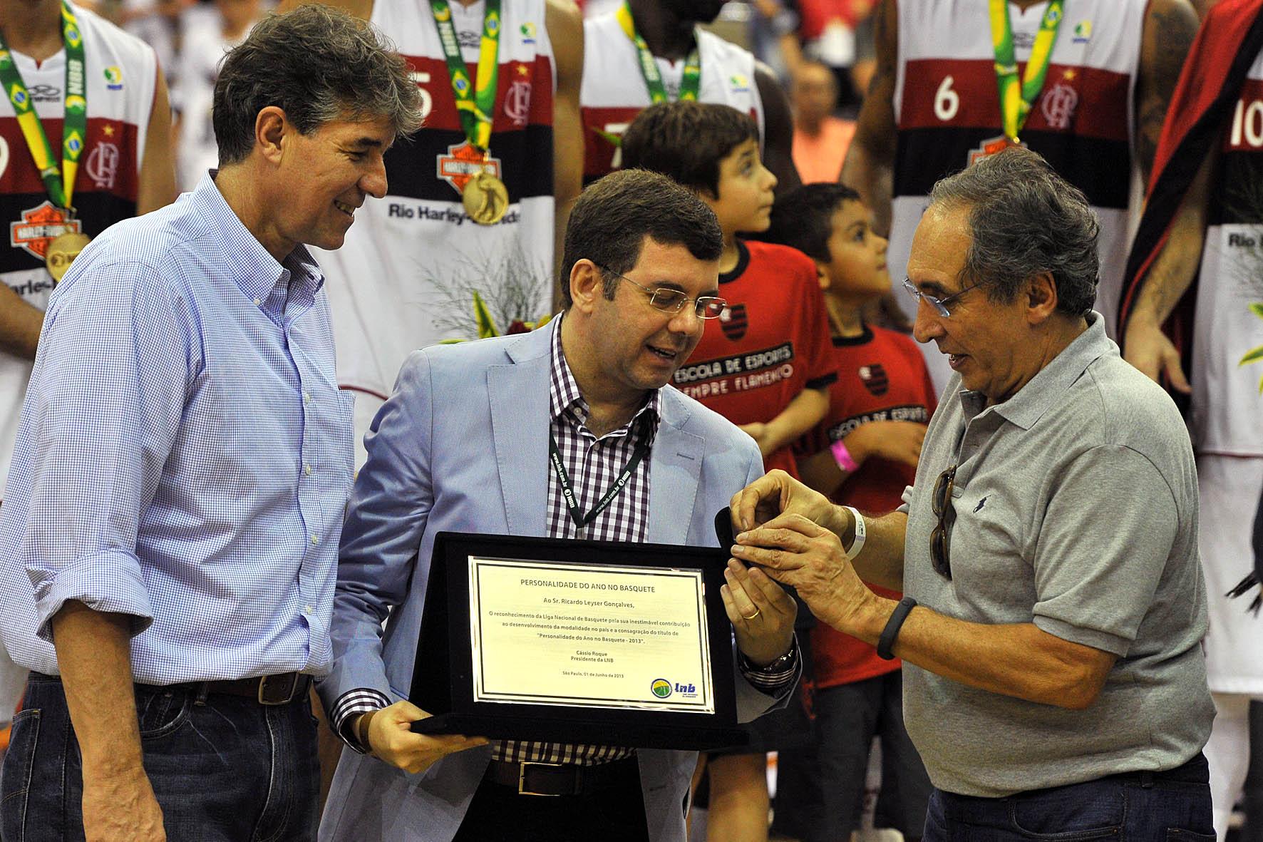 Ricardo Leyser, Personalidade do Ano no Basquete