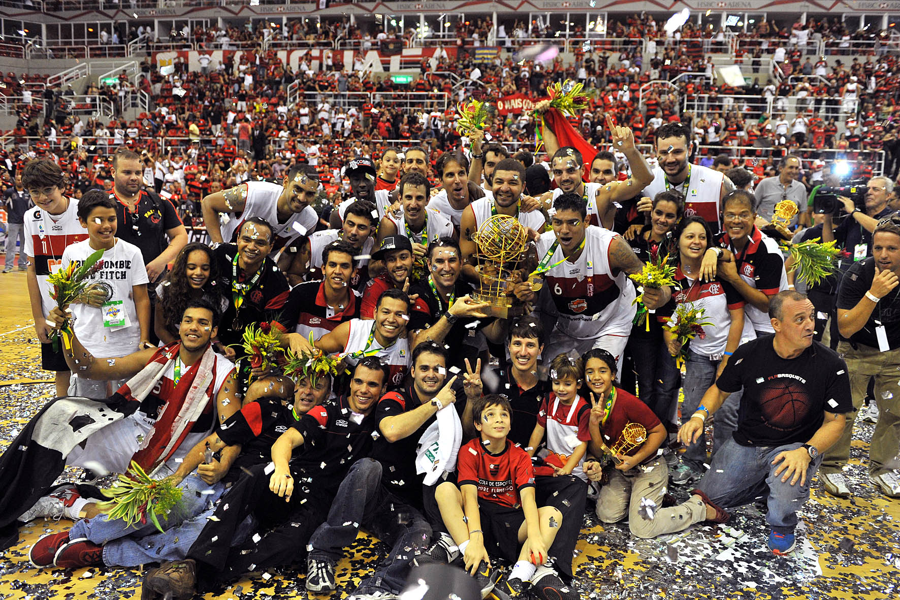 Flamengo, campeão do NBB