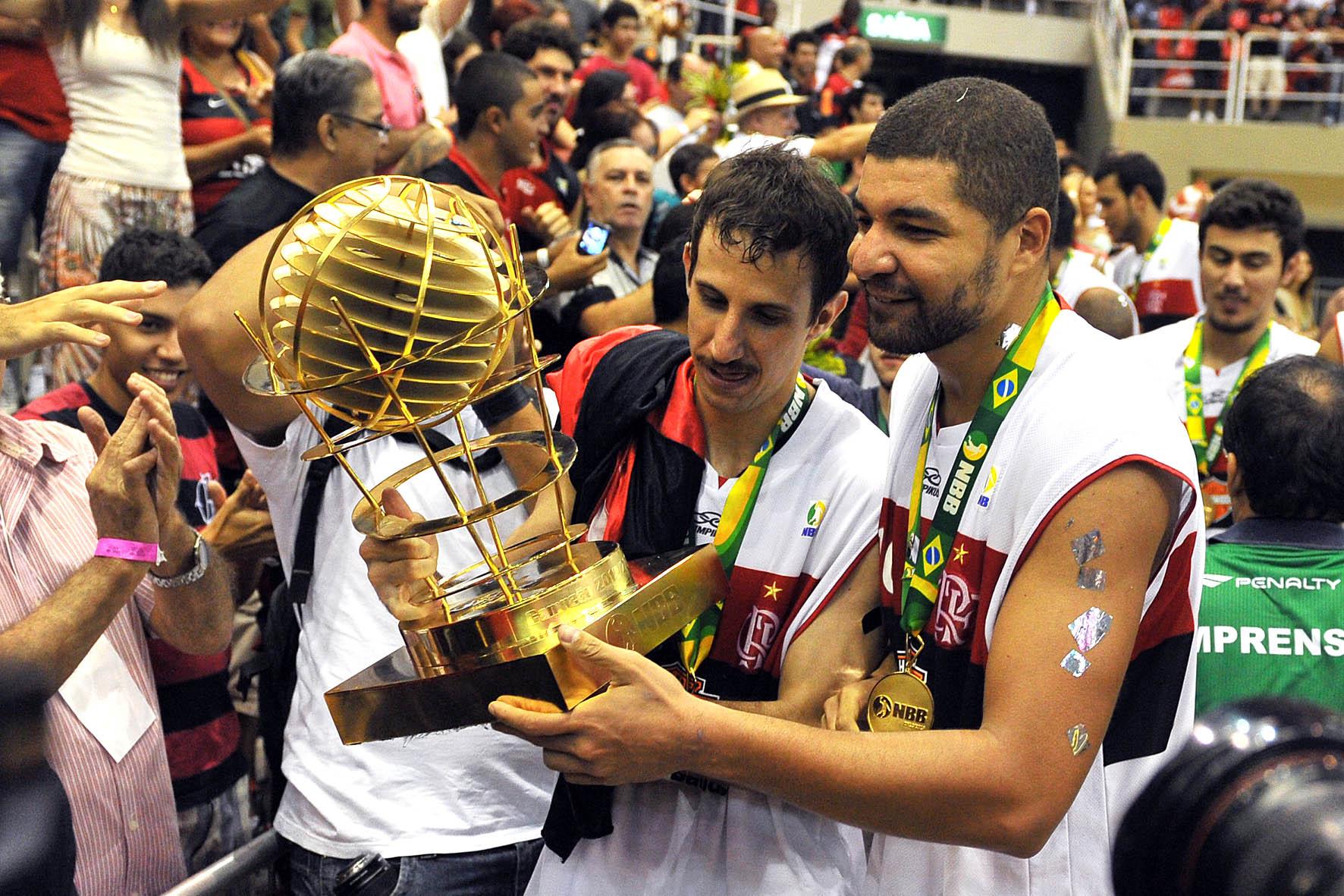 Duda e Olivinha, do Flamengo