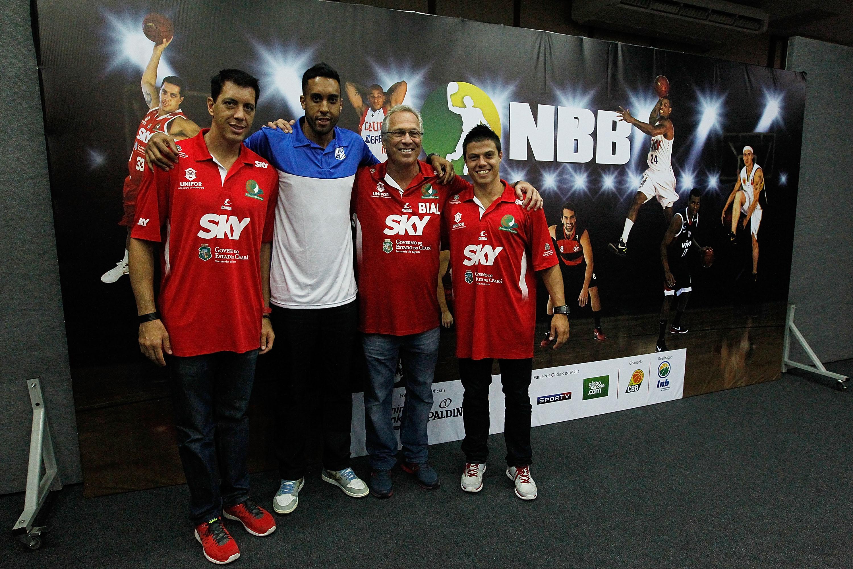 Felipe Ribeiro, Adriano Machado, Alberto Bial e Davi