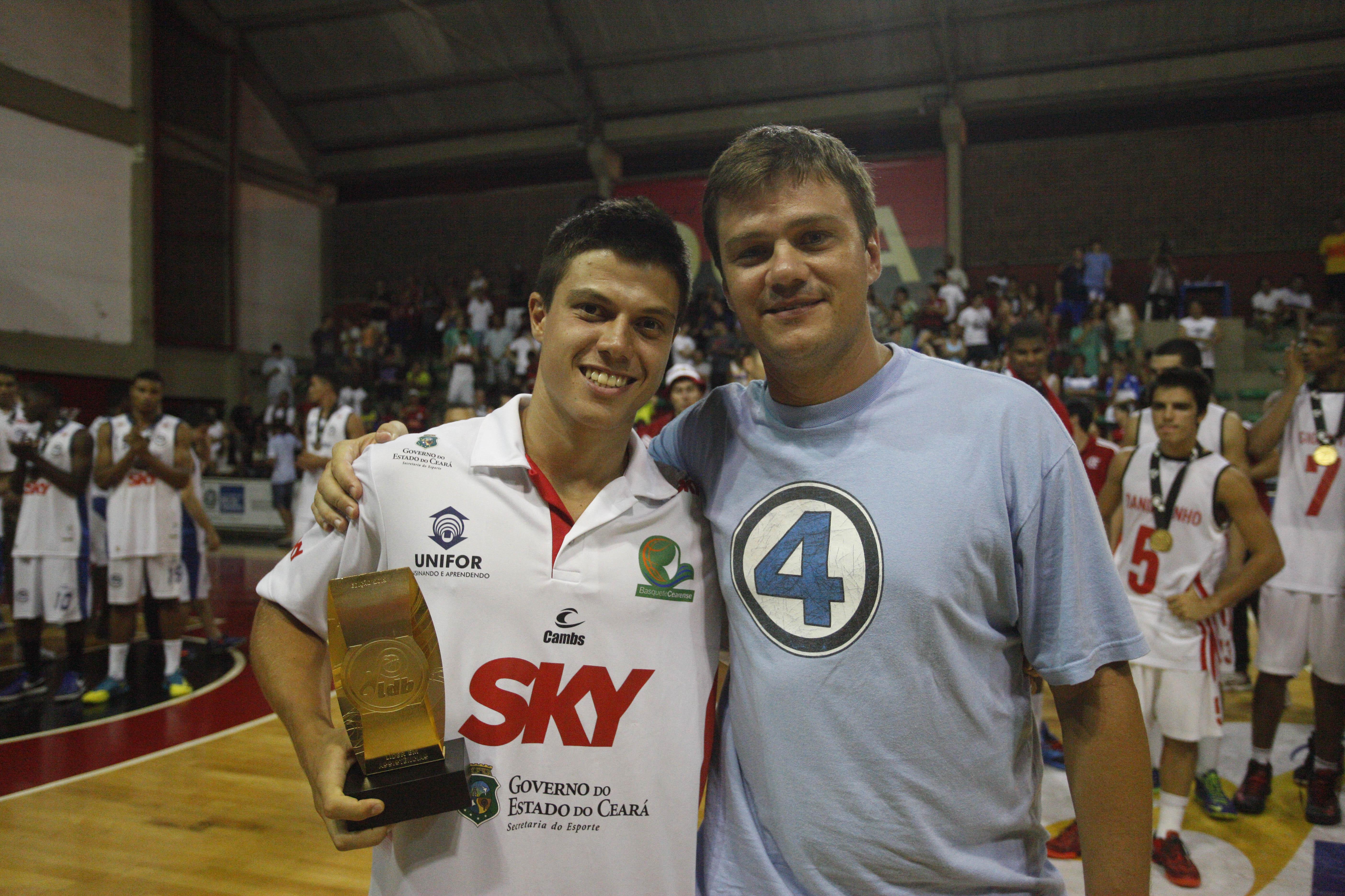 O armador do Basquete Cearense, Davi, liderou nas assistências (Lucas Figueiredo/LNB)