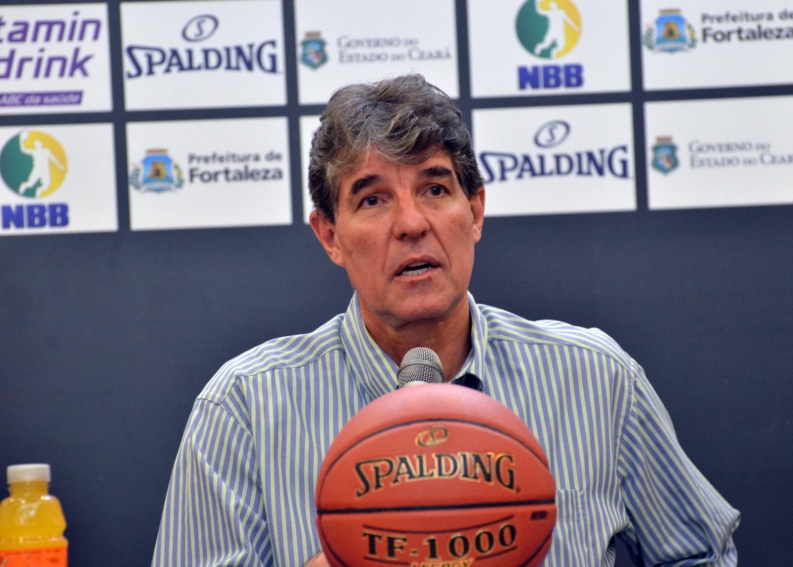 Cássio Roque, presidente da Liga Nacional de Basquete