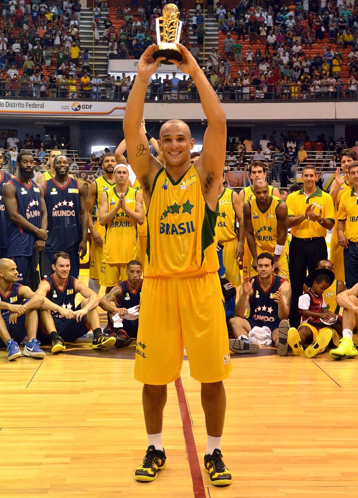 MVP do último Jogo das Estrelas, Alex liderou a votação do NBB Brasil (João Pires/LNB)