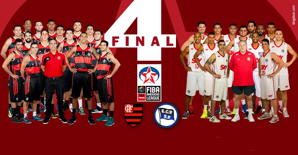 Clube sede, Flamengo desafiará o Aguada (URU), enquanto o atual campeão Pinheiros enfrenta o Halcones Xalapa (MEX) (Arte/LNB)