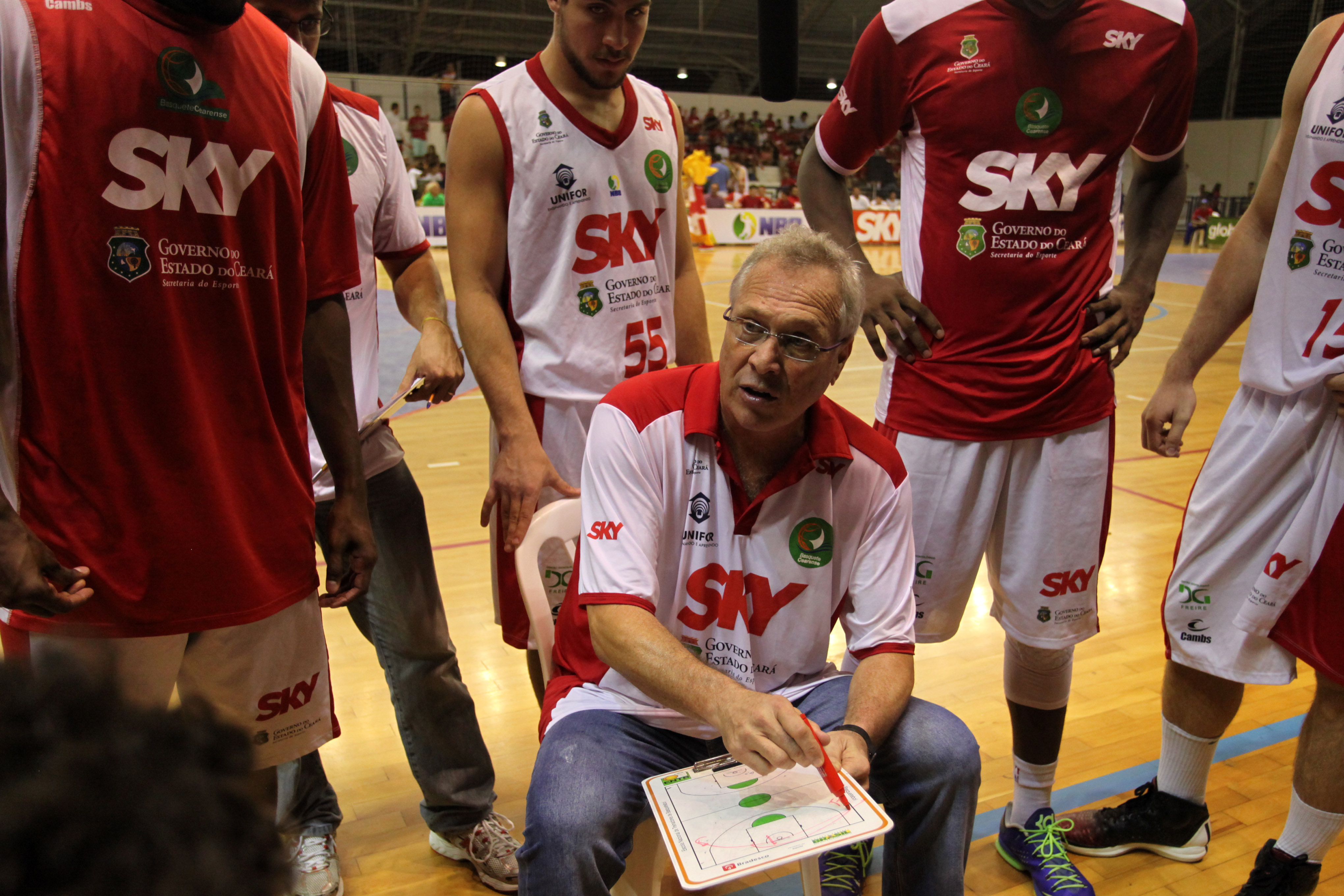 Alberto Bial, do Basquete Cearense