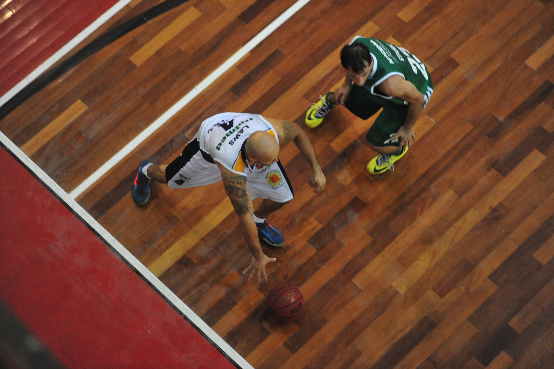 Laws, do São José, e Maxi Stanic, do Palmeiras