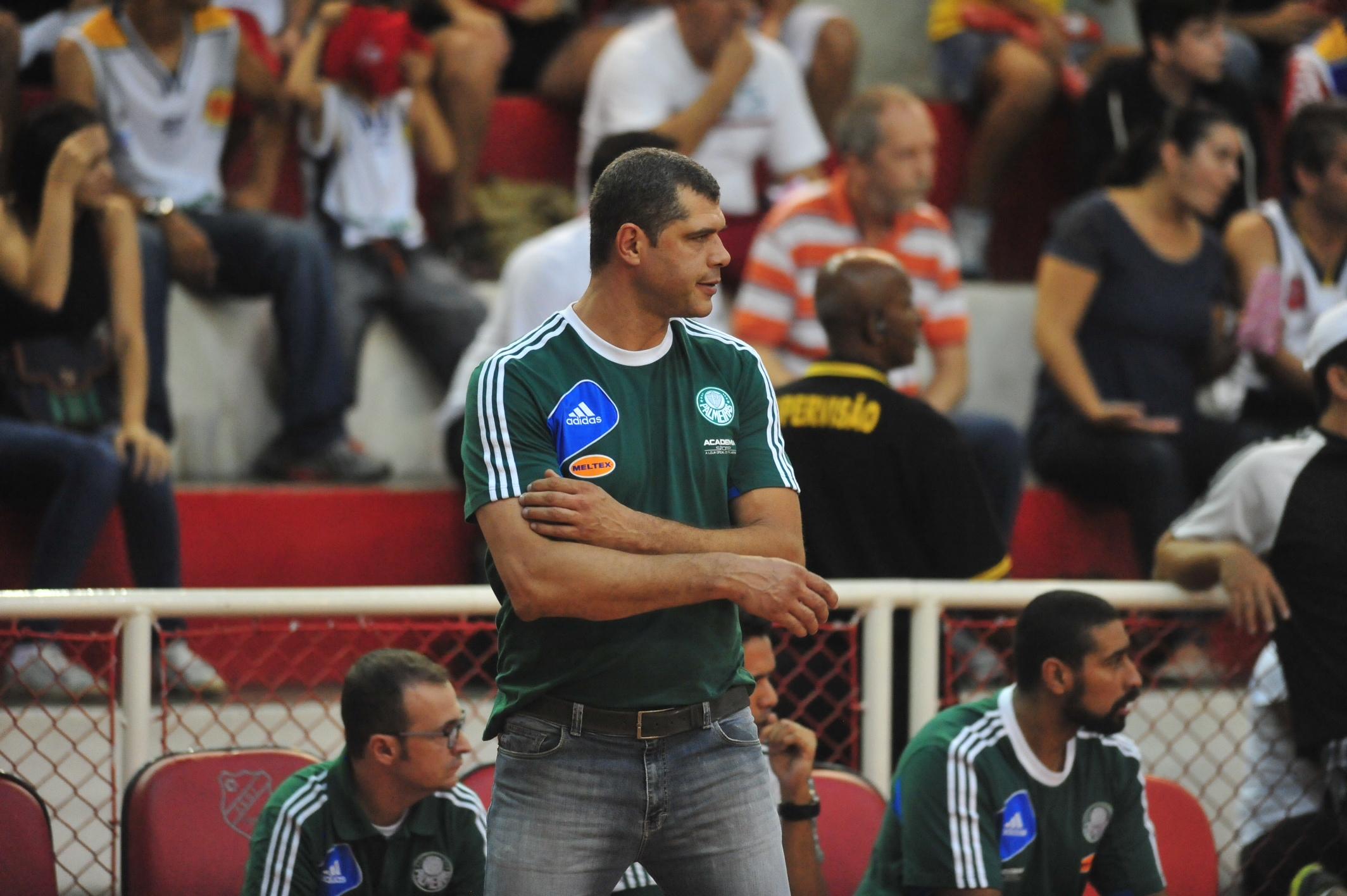 Técnico Betão, do Palmeiras