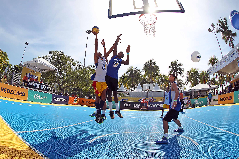 O Brasil é o país que mais organizou torneios de Basquete 3x3 neste ano (Gaspar Nóbrega/Inovafoto)