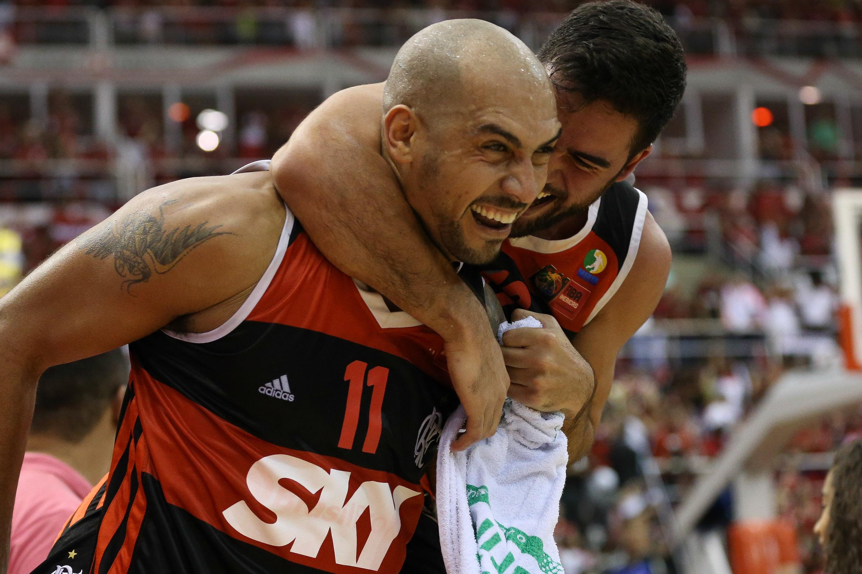 Marquinhos e Gegê, do Flamengo