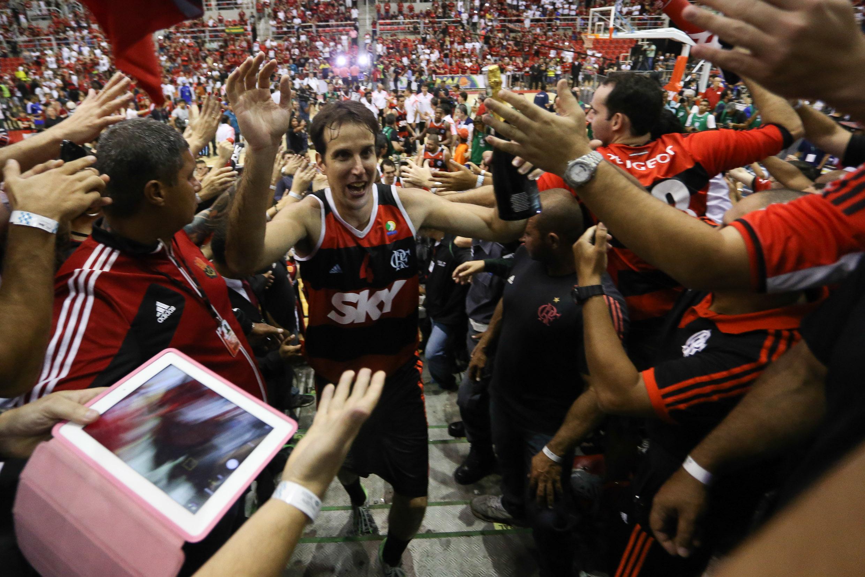 Marcelinho Machado e a torcida do Flamengo