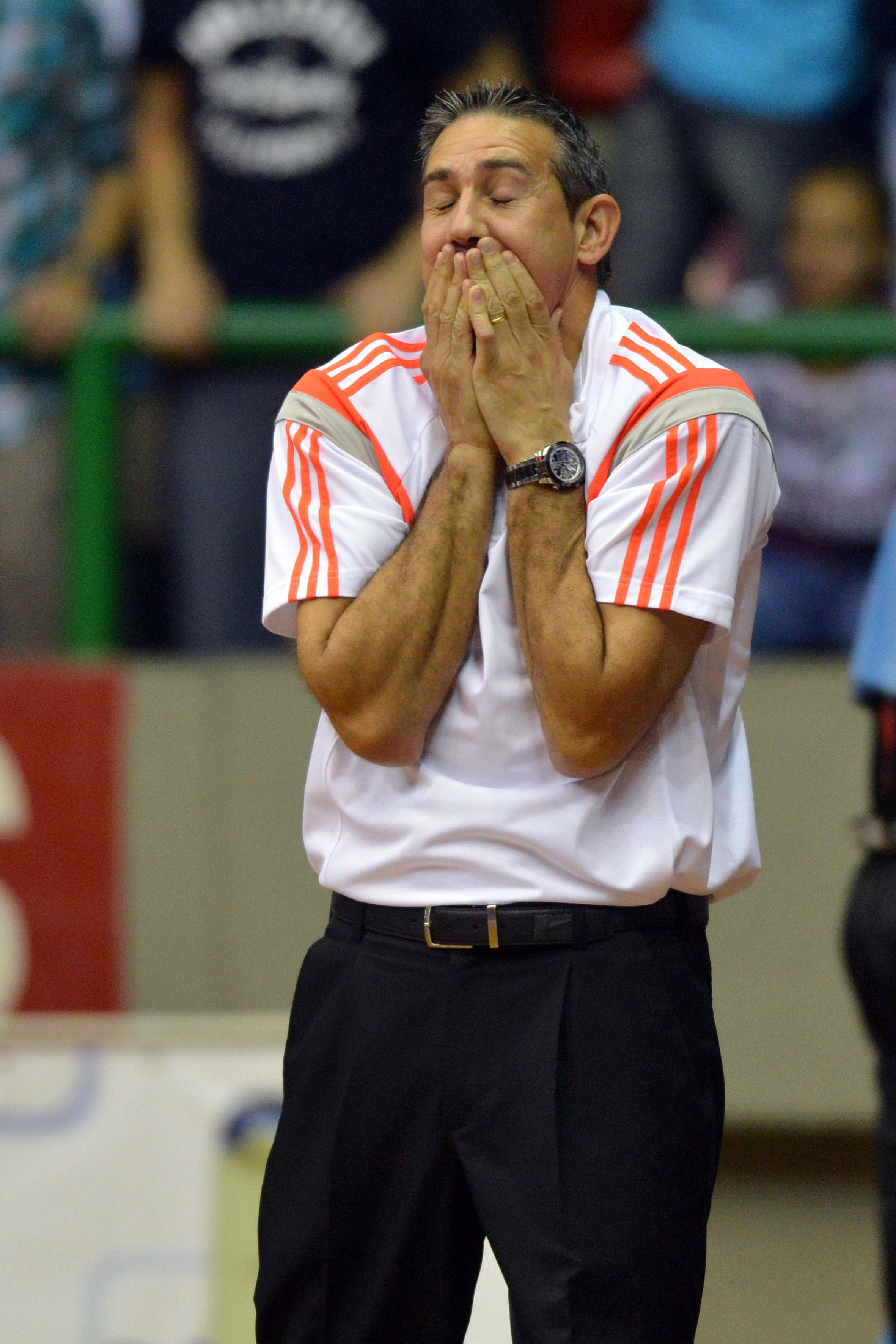 Técnico José Neto, do Flamengo