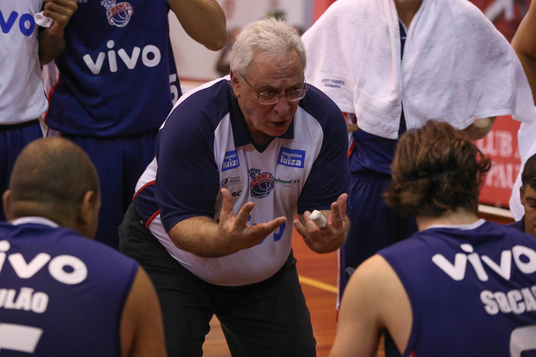 Lula Ferreira, técnico do Franca