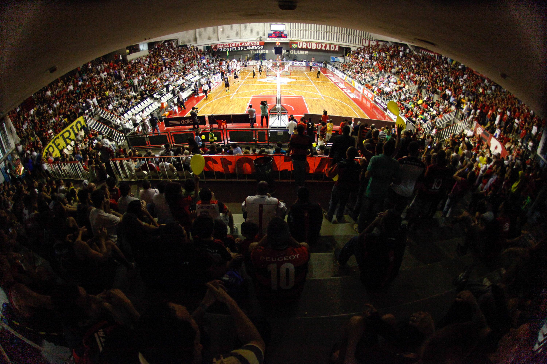 Ginásio do Tijuca Tênis Clube (Gilvan de Souza/Flamengo)