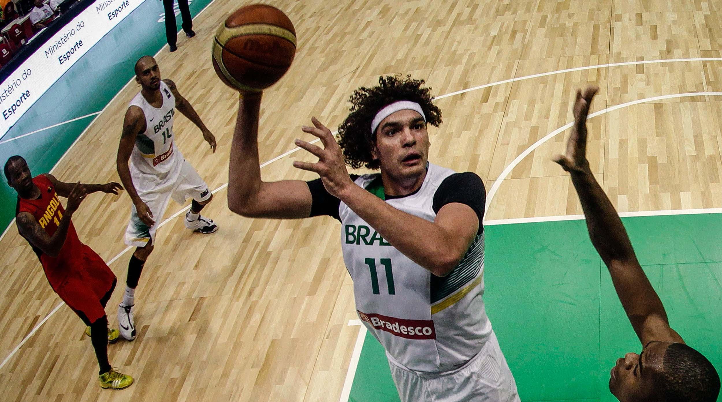 Anderson Varejão é um dos principais nomes da Seleção Brasileira 45ec610356111
