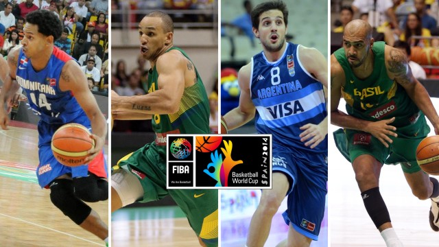 NBB será representada por 10 jogadores no Mundial da Espanha e é a sexta liga com mais atletas na competição (Montagem/LNB)