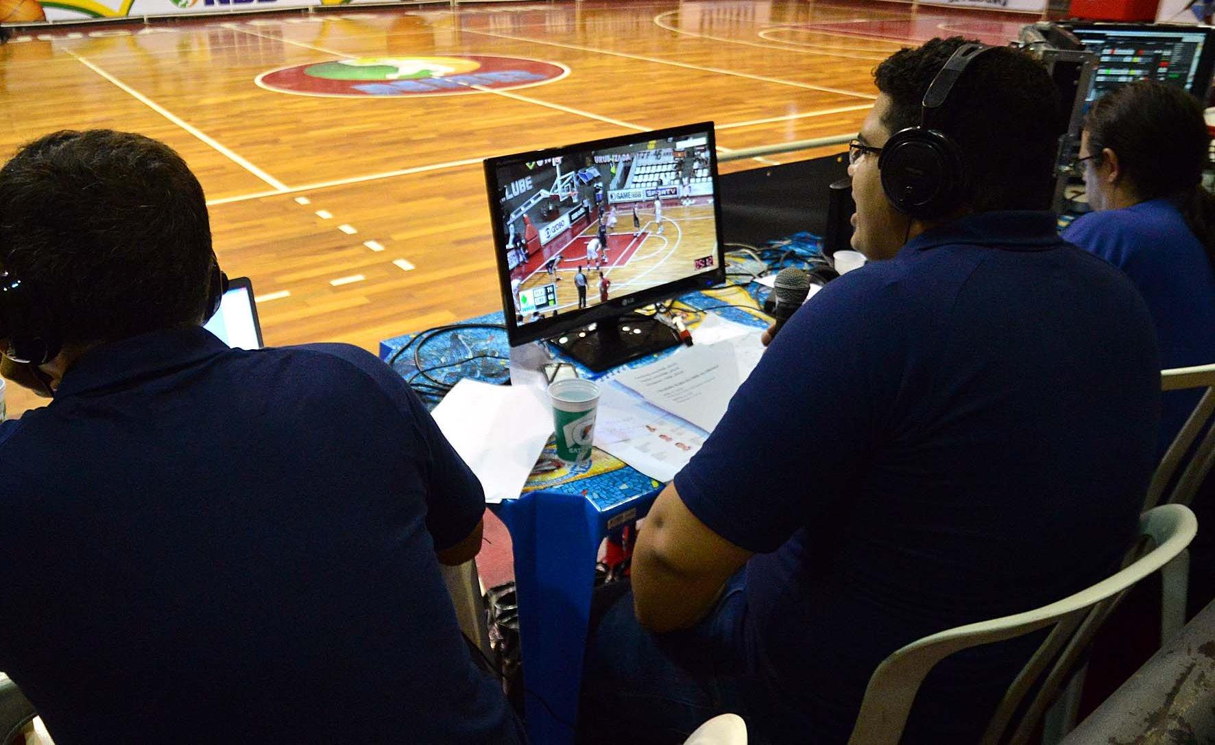 Iniciadas na última temporada, transmissões  via web acontecerão em todas as rodadas do NBB 7 (João Pires/LNB)