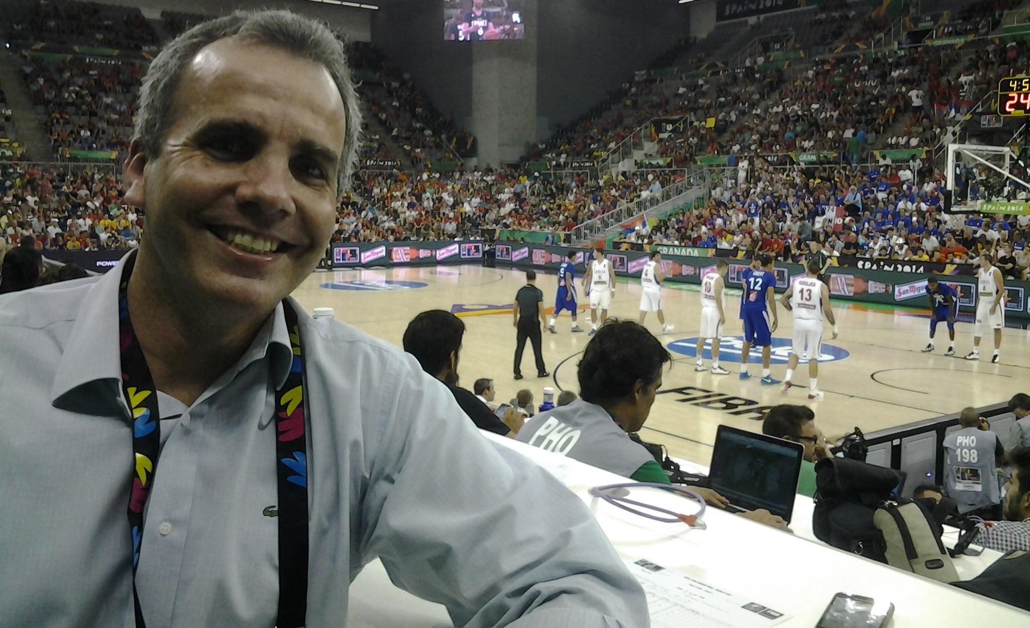 Bassul acompanhou todos os detalhes da sede da Seleção Brasileira, localizada em Granada (Divulgação)