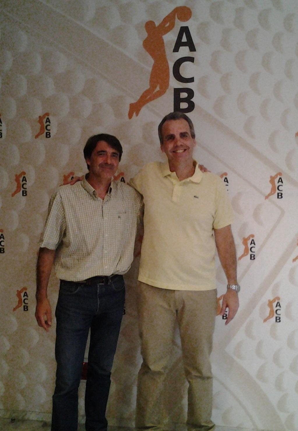 Durante sua estadia na Espanha, Bassul fez uma reunião na ACB (Divulgação)