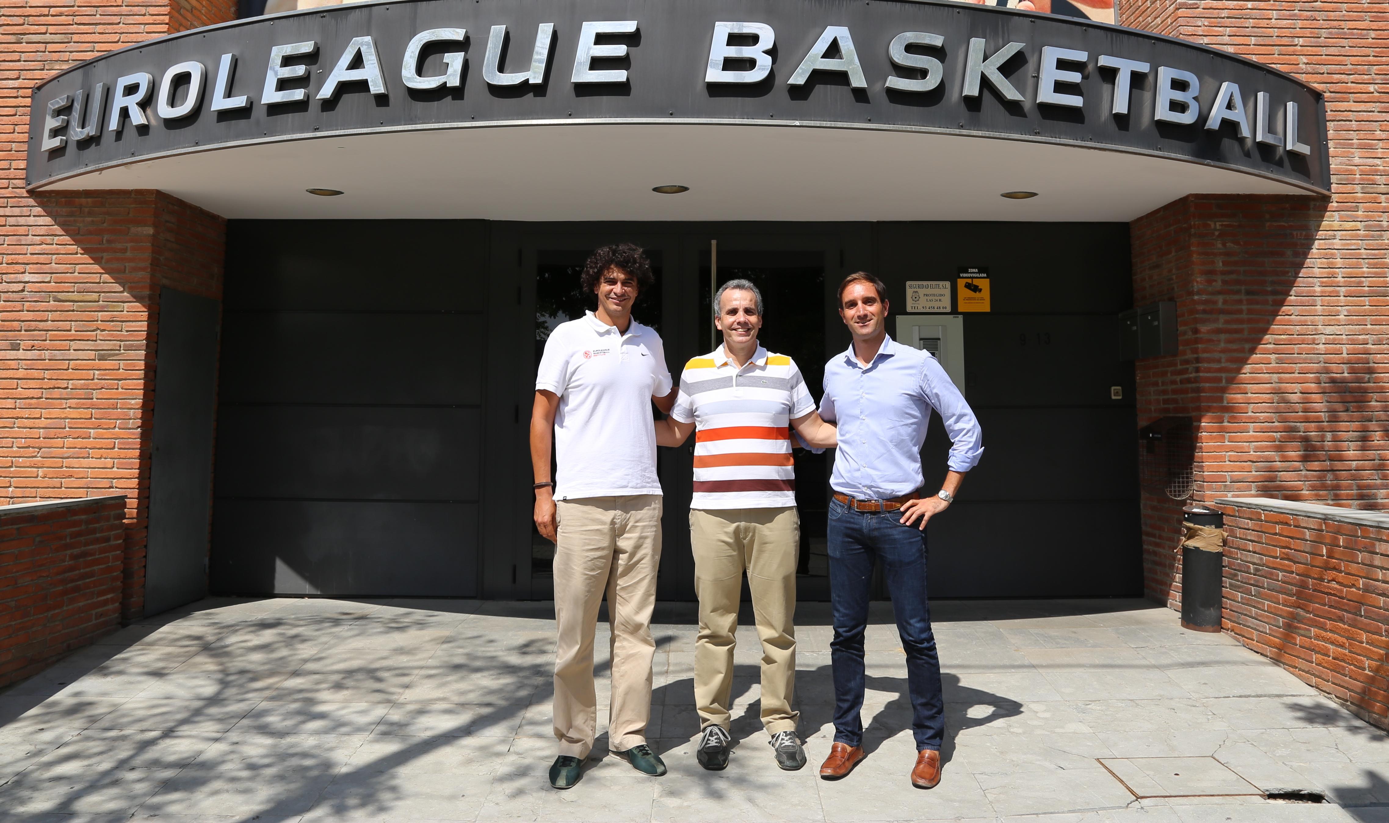 Bassul esteve na Euroliga e aproveitou para ajustar os últimos detalhes da Copa Intercontinental (Divulgação)