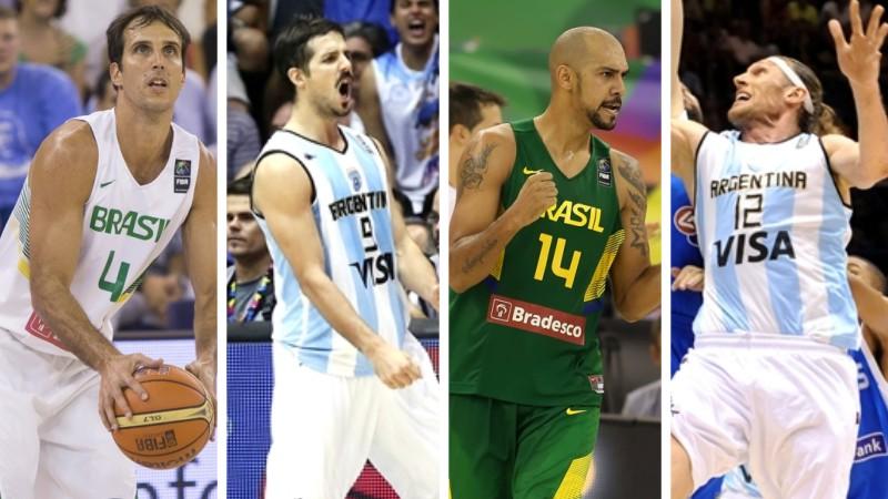 Marcelinho, Laprovittola, Marquinhos e Herrmann agora focam no Mundial de Clubes (Montagem/LNB)