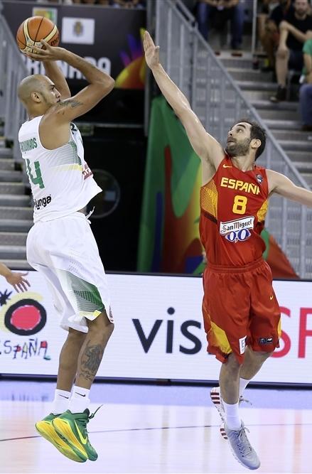 Seleção Brasileira sofreu sua primeira derrota no Mundial (FIBA/Divulgação)