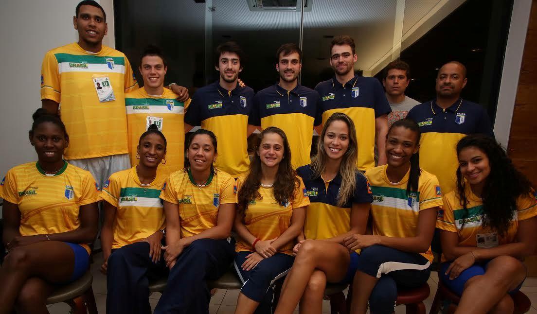 Erick e Davi, do Basquete Cearense, defenderão a Seleção no torneio; Brasil terá 2 equipes masculinas e 2 femininas na disputa (Luiz Pires/LNB)