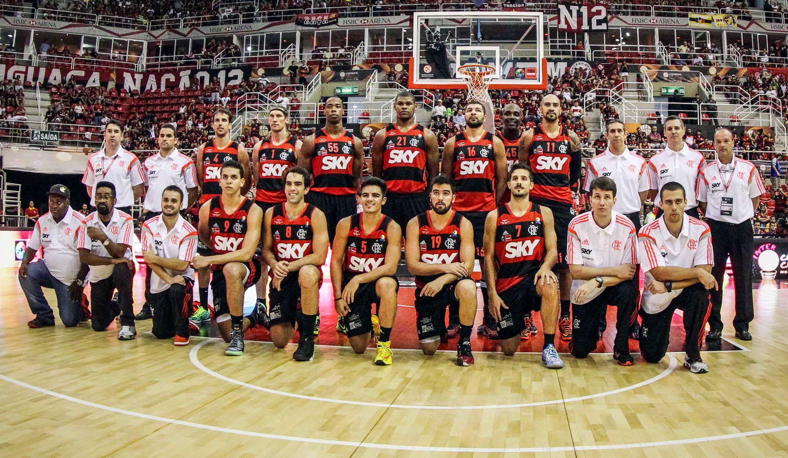 Força do elenco é uma das apostas para o Flamengo seguir fazendo história no basquete brasileiro (Gaspar Nóbrega/FIBA Américas)