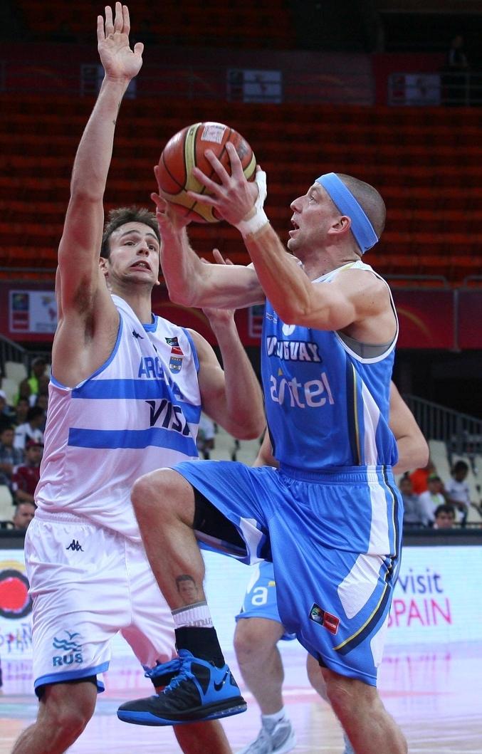 Taboada disputou a última Copa América pela seleção do Uruguai (Samuel Vélez/FIBA Américas)