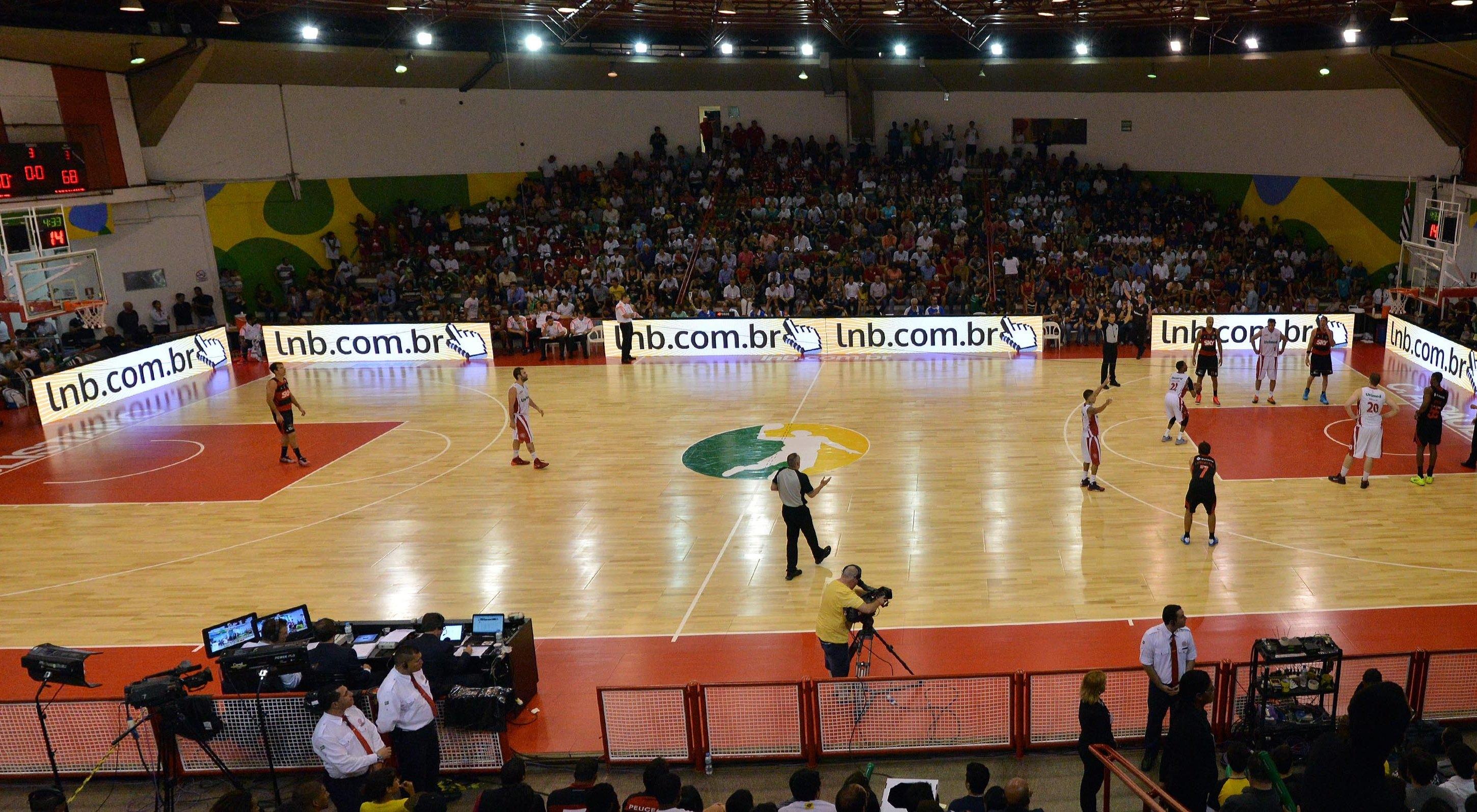 Ginásio Antonio Prado Junior esteve impecável na partida de abertura do NBB 7 (João Pires/LNB)