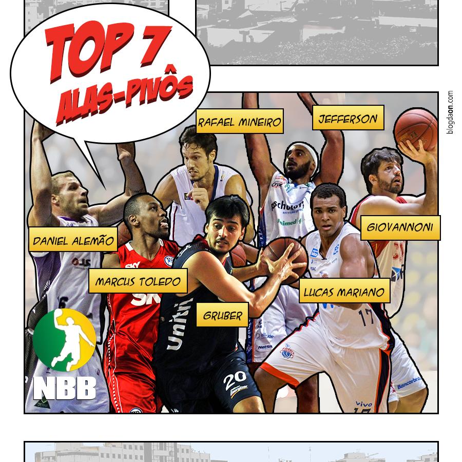 NBB7 - TOP7 alas-pivôs