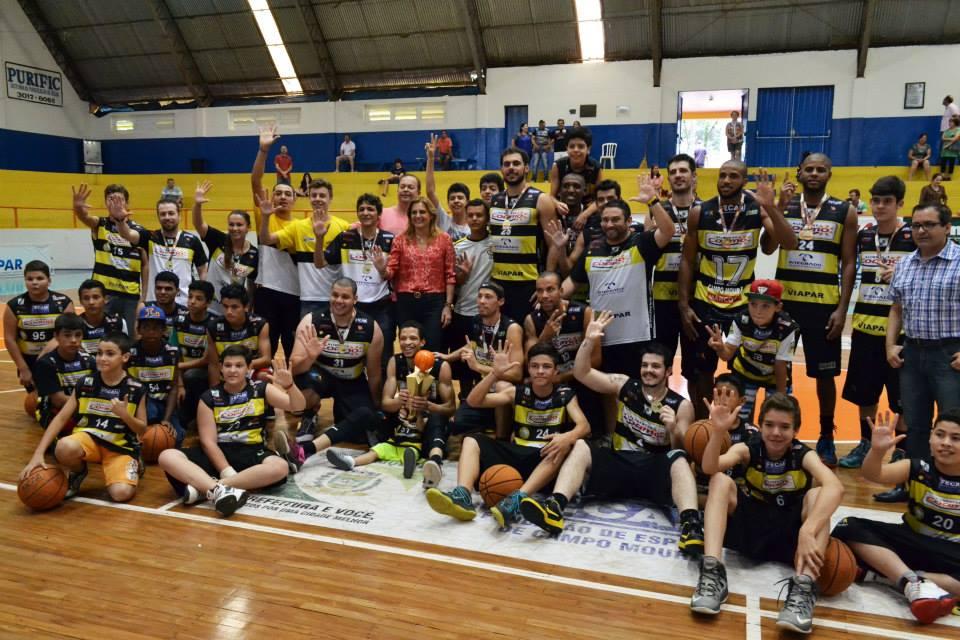 Terceiro colocado na última Liga Ouro, Campo Mourão conquistou seu quinto título paranaense na história (Divulgação)