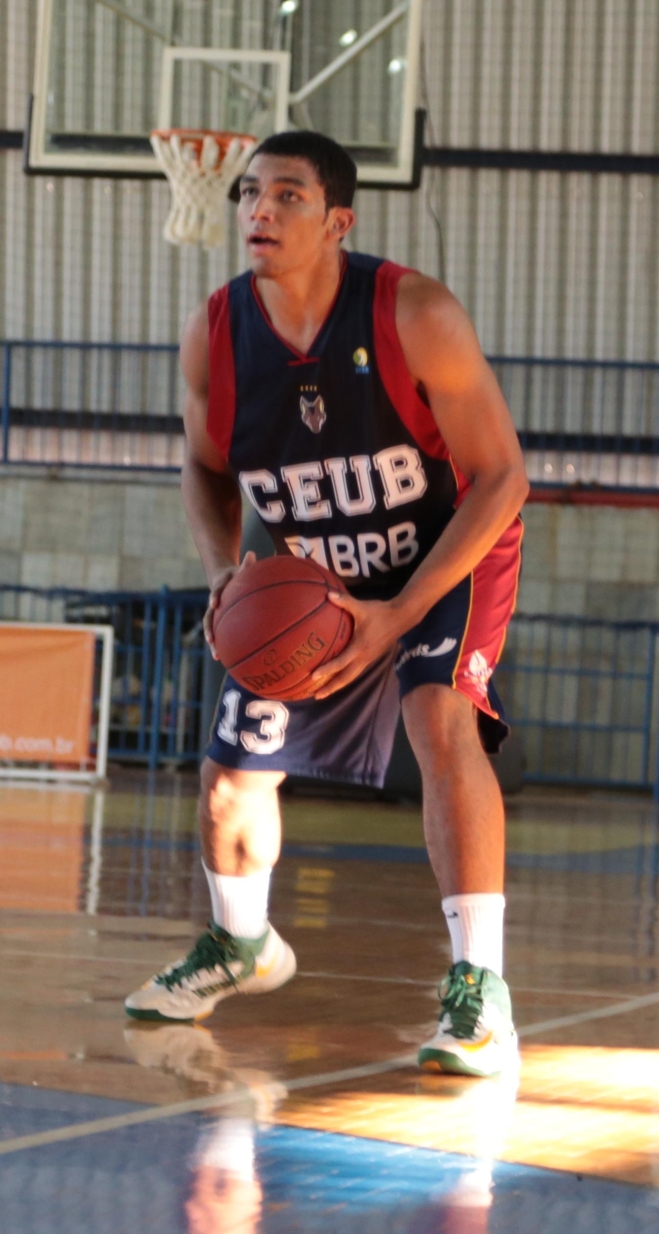 Paulo, do Brasília, foi o cestinha do jogo, com 22 pontos (Raphael Oliveira/LNB)