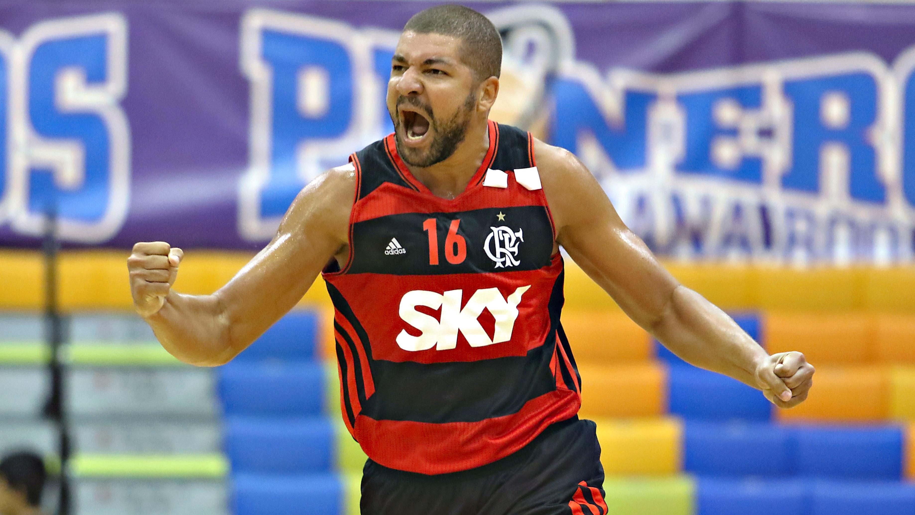 Olivinha teve papel fundamental para o Flamengo estrear na Liga das Américas com uma boa vitória (FIBA Américas/Divulgação)