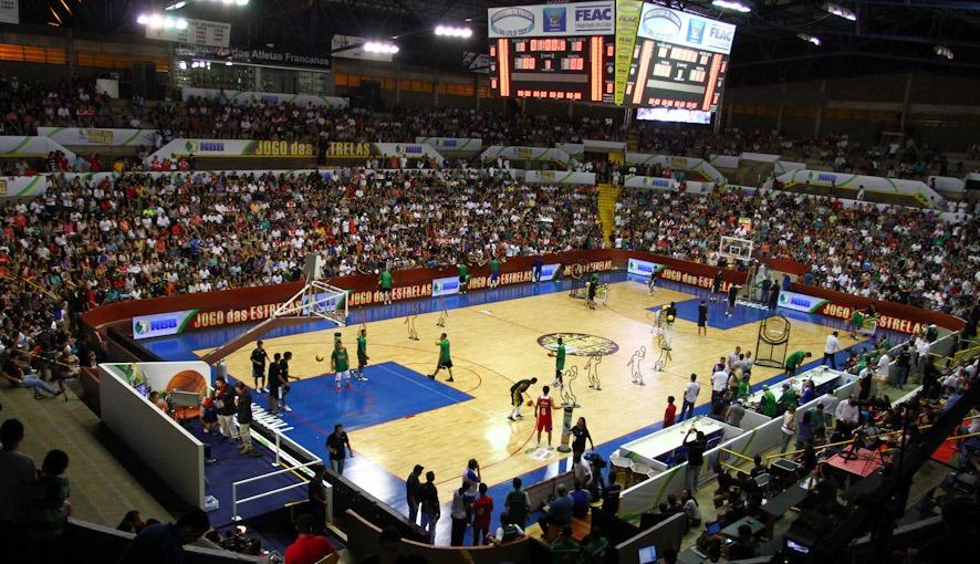 Ginásio Pedrocão será palco do Jogo das Estrelas do NBB pela 3ª vez (Luiz Pires/LNB)