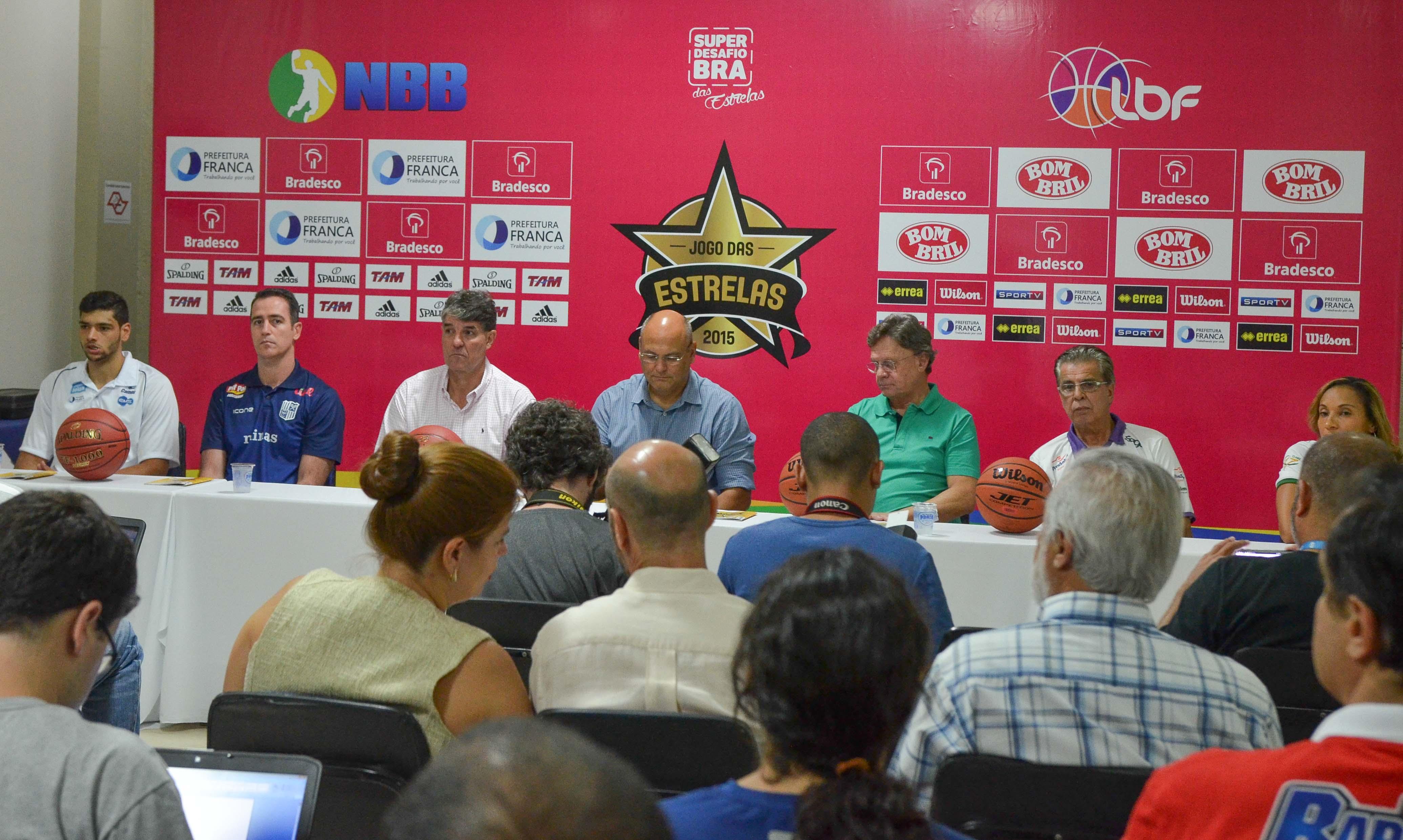 Coletiva de imprensa Jogo das Estrelas 2015