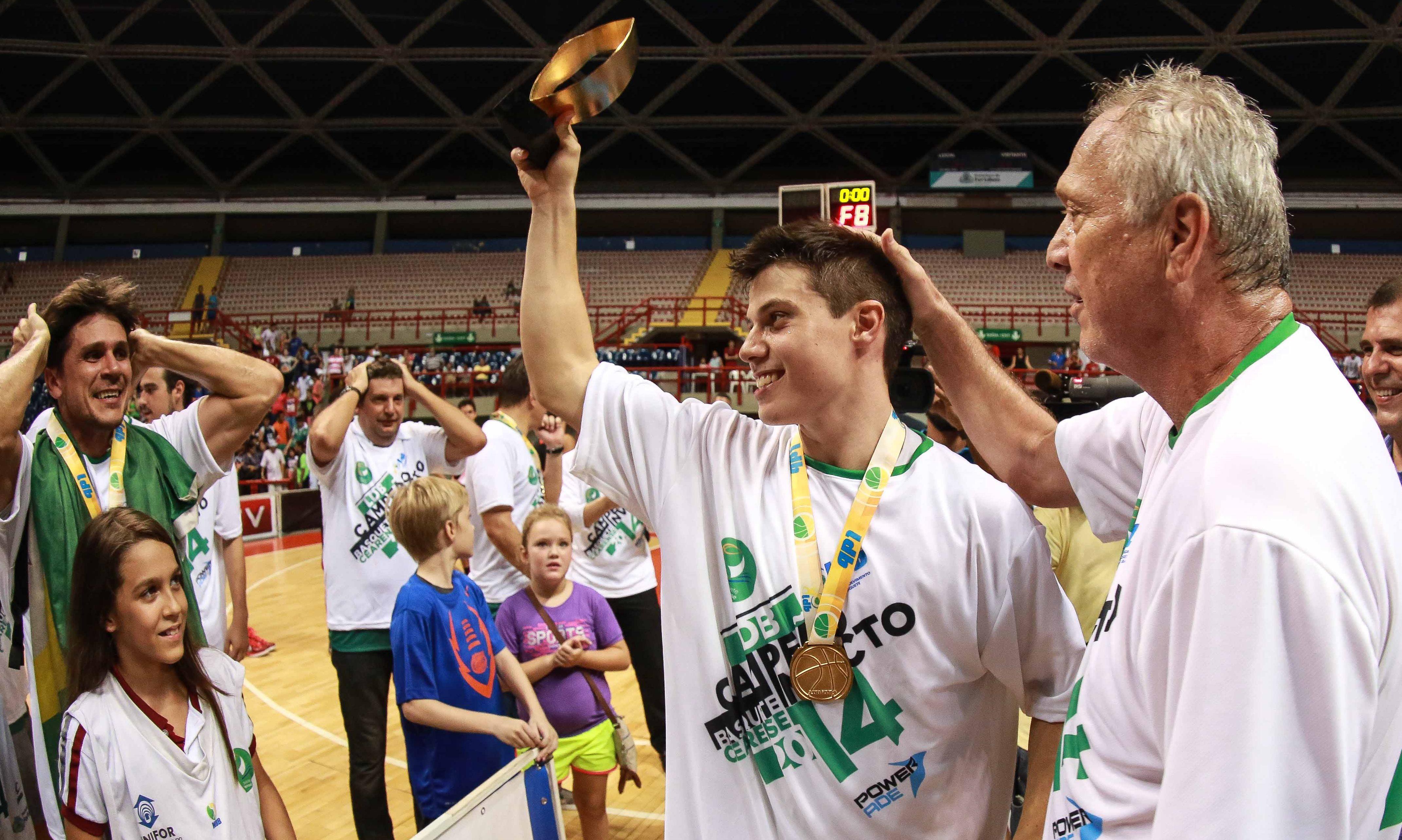 Capitão do Basquete Cearense, armador Davi Rossetto foi o MVP da Final da LDB (Luiz Pires/LNB)